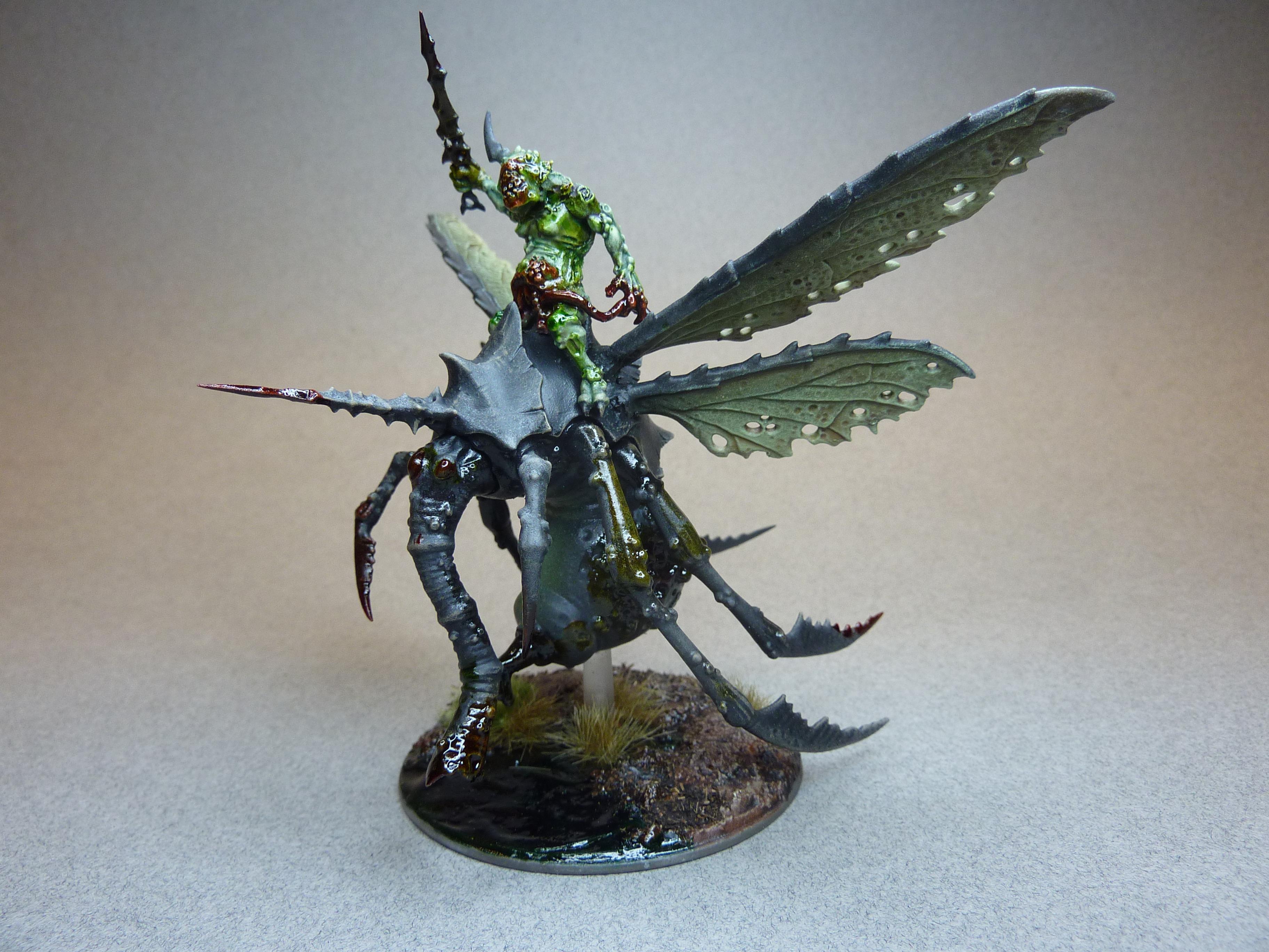 Chaos, Chaos Daemons, Nurgle, Plague Drone