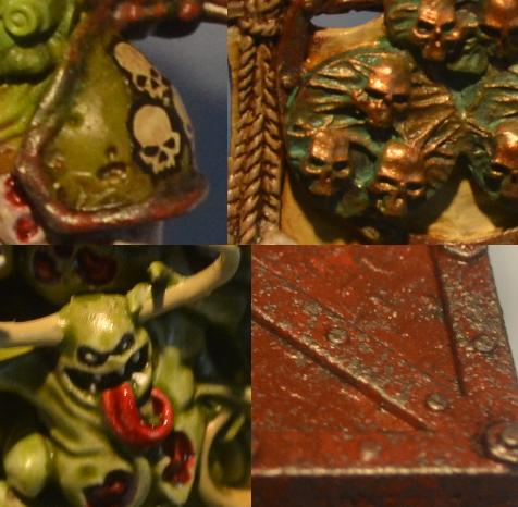 Champion, Chaos, Death Guard, Nurgle, Palanquin, Warhammer 40,000