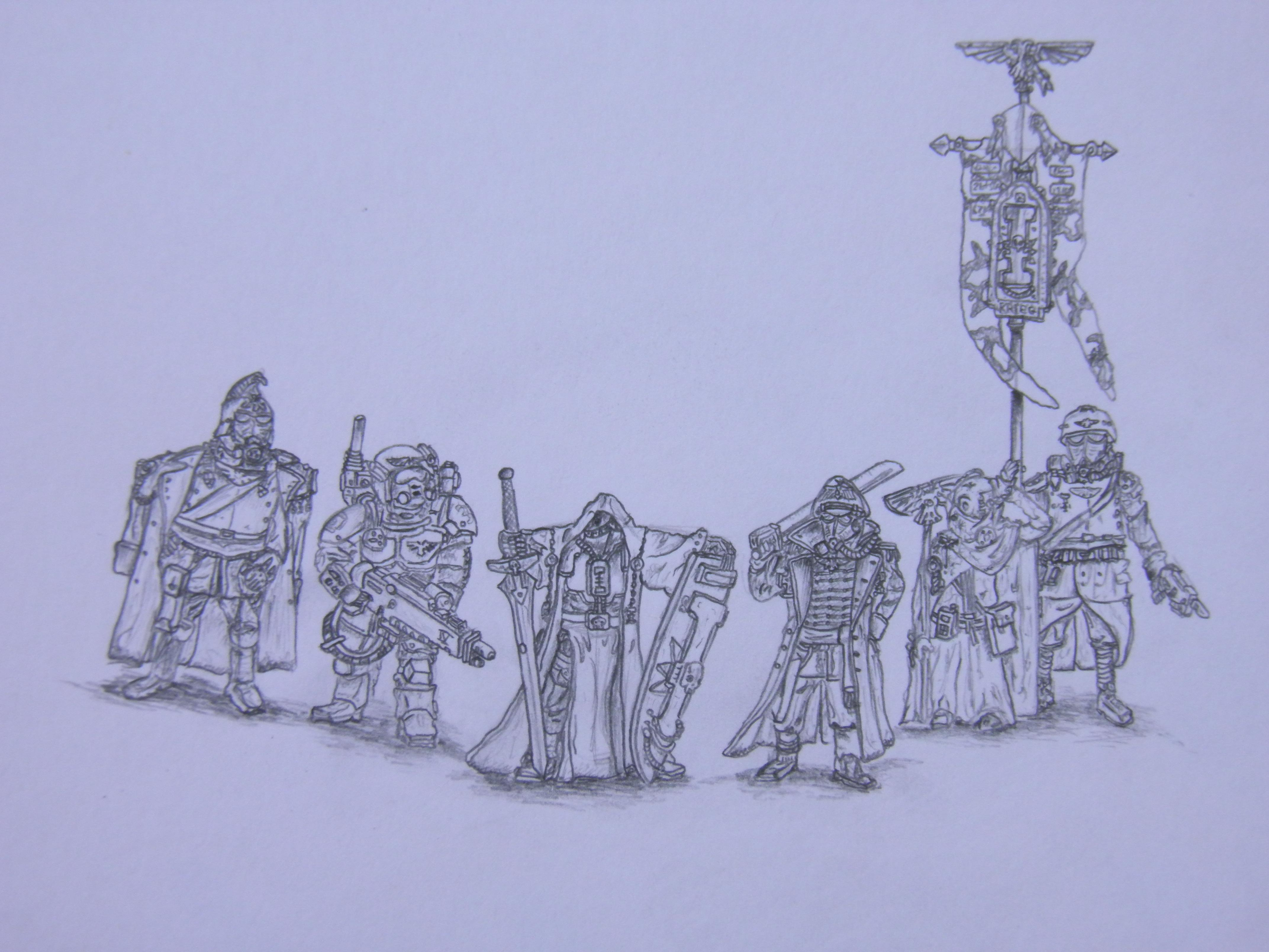 Imperial Guard Drawing