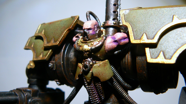 Chaos Space Marines, Conversion, Games Workshop, Painted, Slaanesh, Walker, Warhammer 40,000
