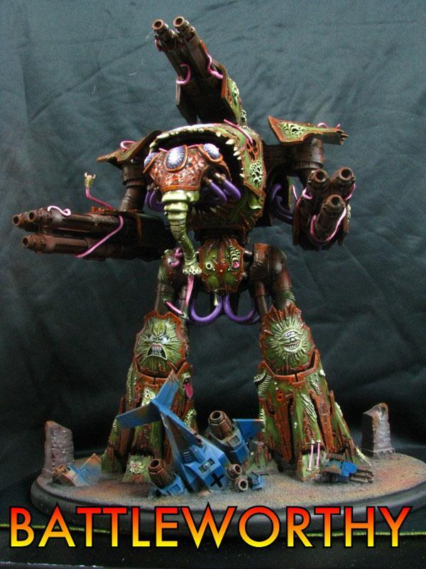 Forge World, Nurgle Titan, Reaver, Titan