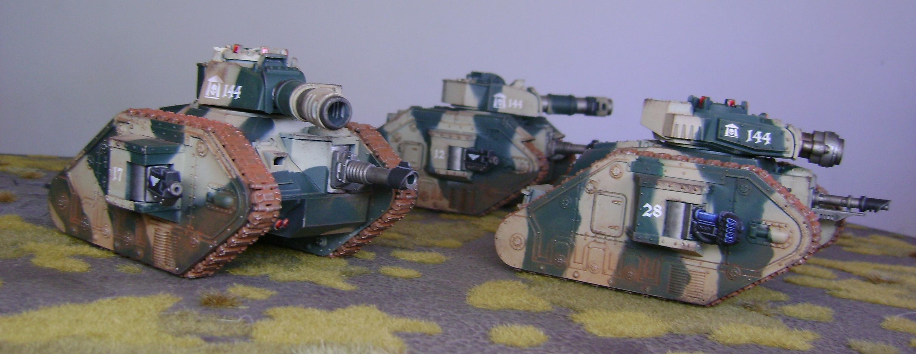 Cadians, Imperial Guard, Leman Russ