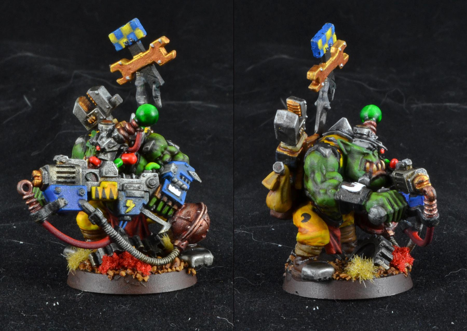 Bad Moons, Mek Boy, Orks, Warhammer 40,000