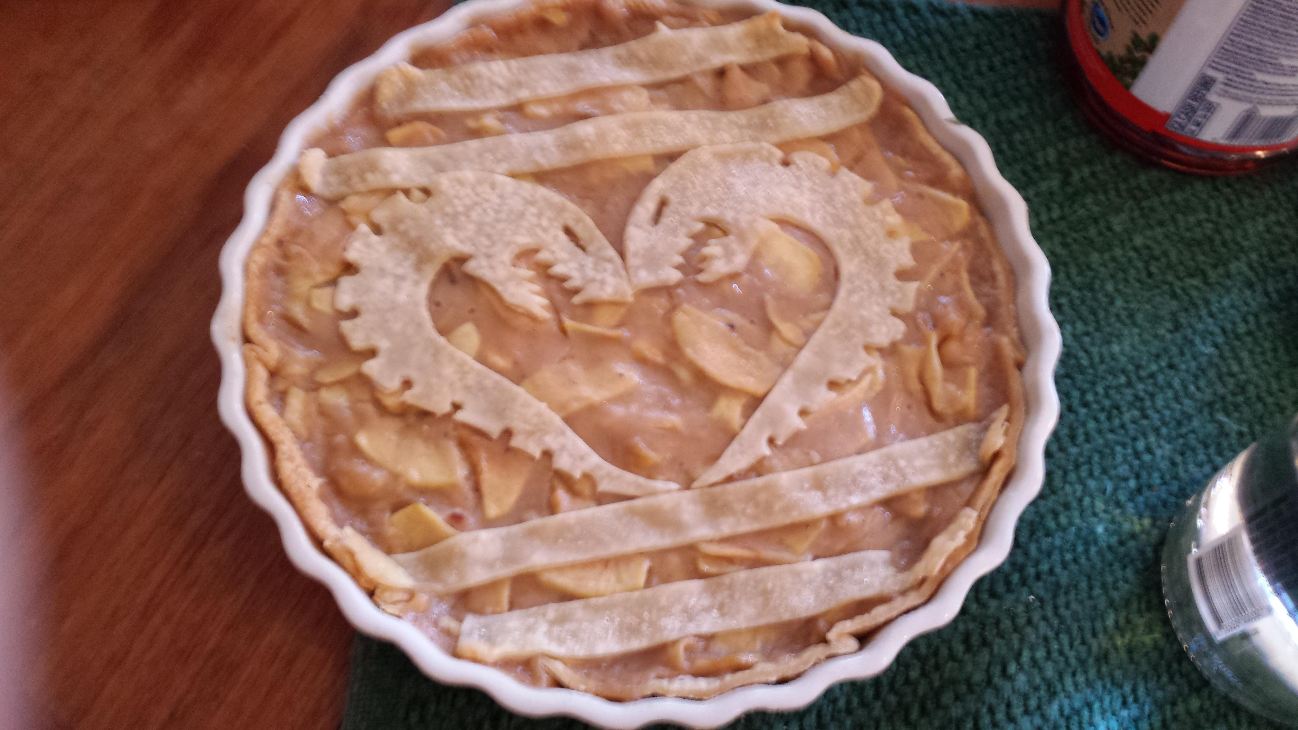 Pie, Tyranid pie