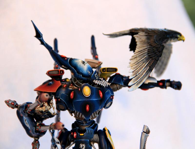 Conversion, Eagle, Eldar, Warhammer 40,000, Welcome To The Rainbow, Wraithknight