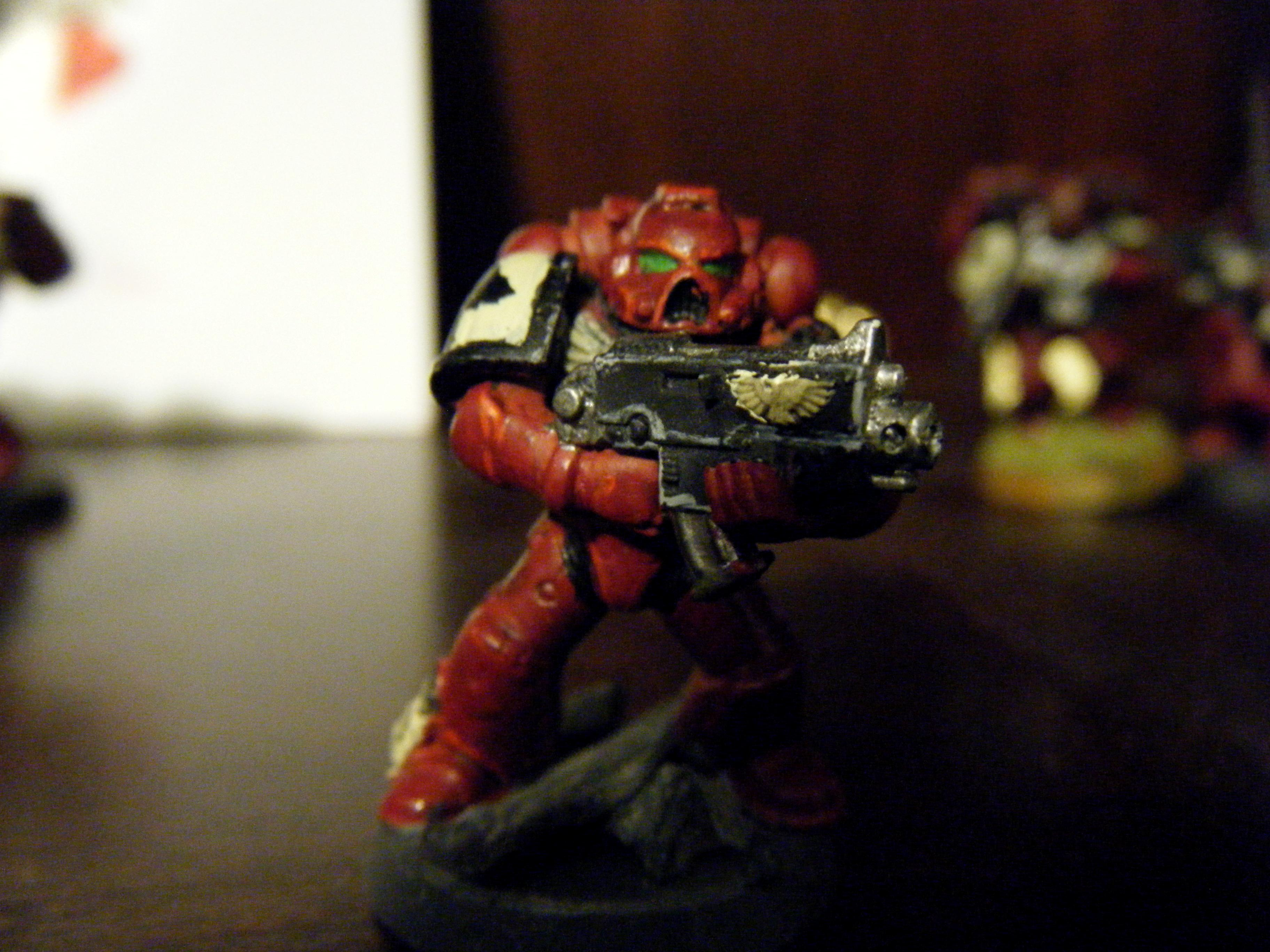 Blood Ravens, Bolter, Space Marines, Tactical, Tactical Squad, W40k, Warhammer 40,000