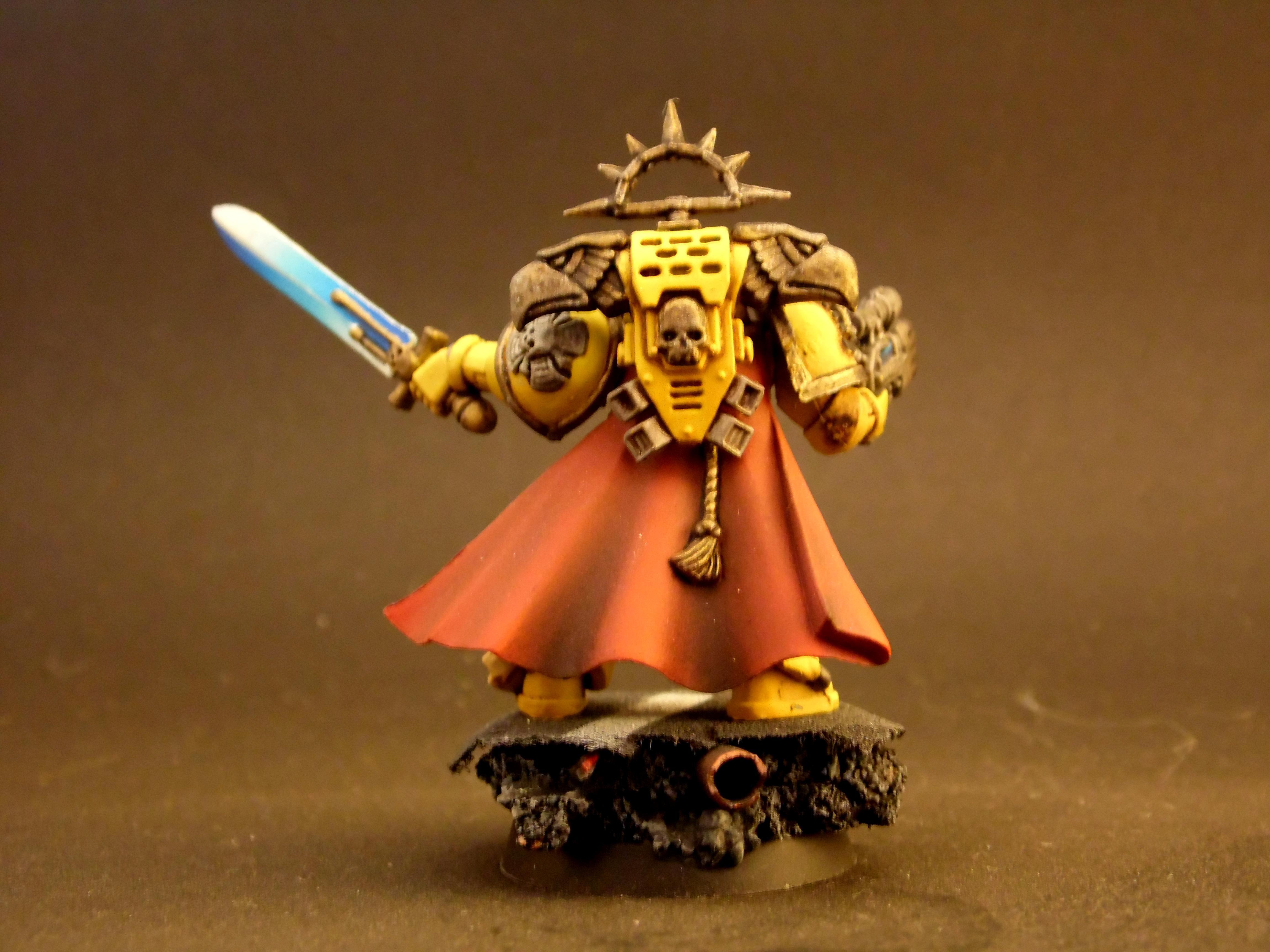 Captain, Commander, Fist, Imperial, Painting, Rustytankpainting, Warhammer 40,000, Warhammer Fantasy
