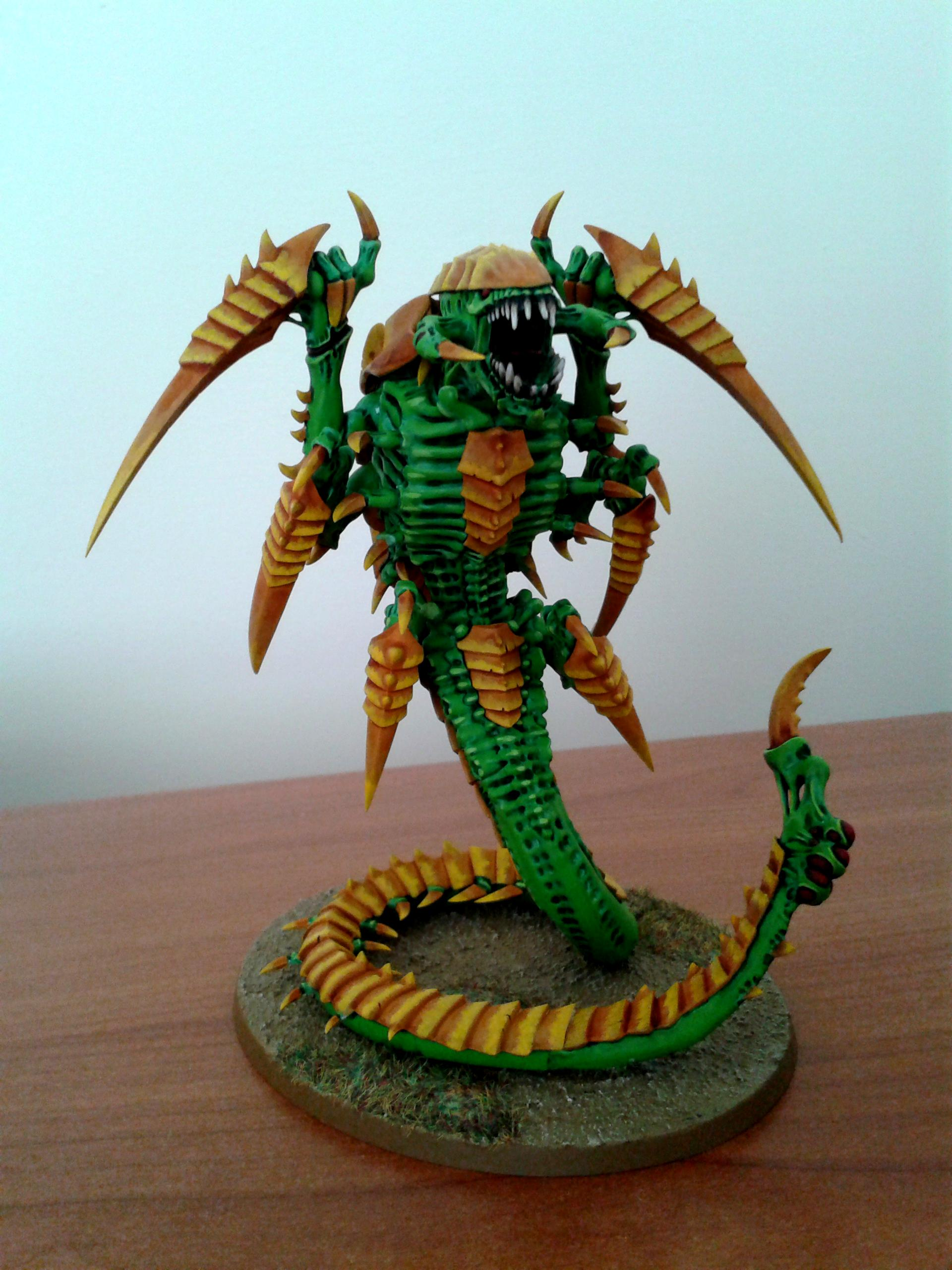 Green, Tty, Tyranids, Yellow