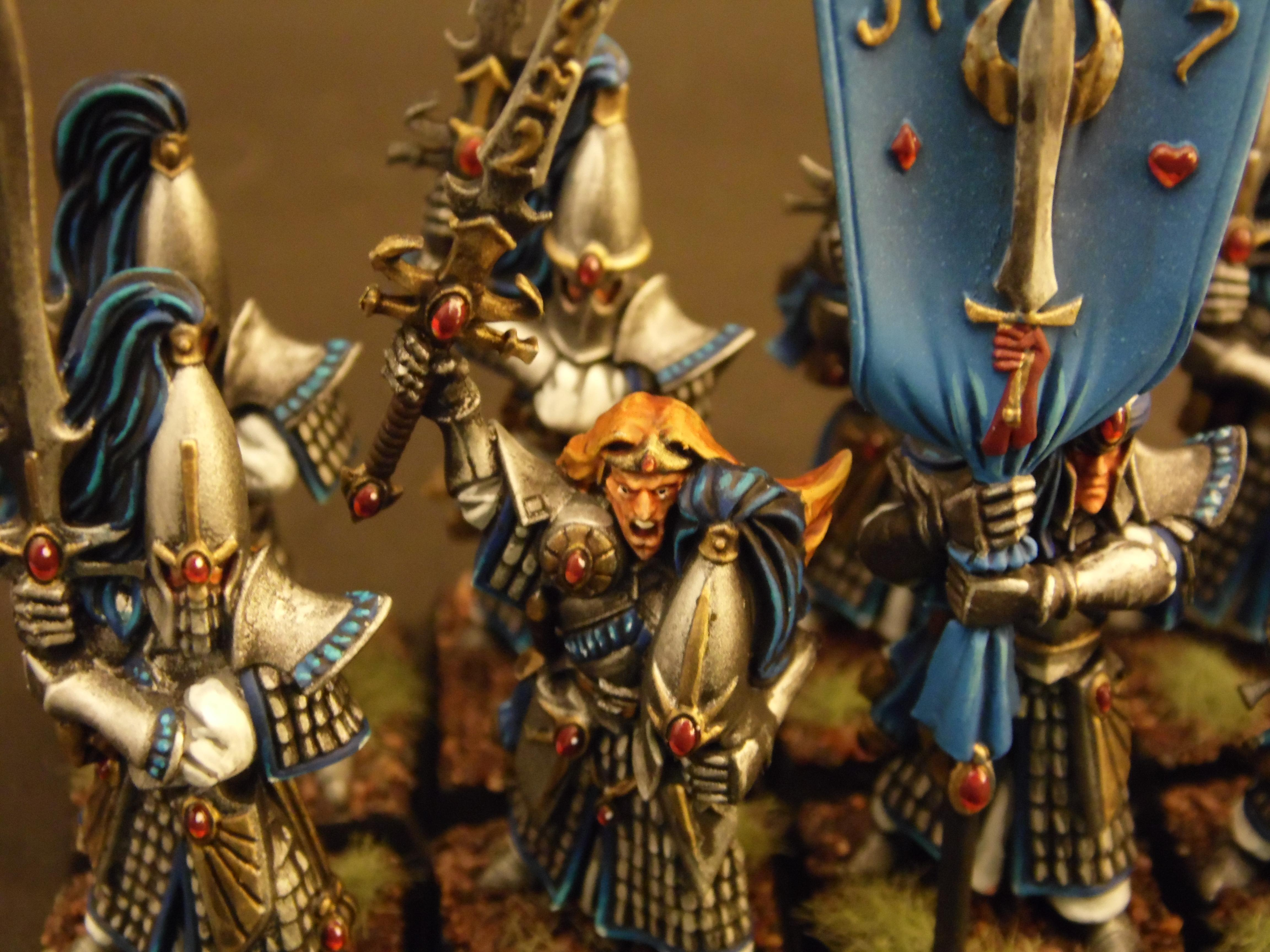Elves, High, Hoeth, Master, Of, Painting, Rusty, Sword, Tank, Warhammer Fantasy