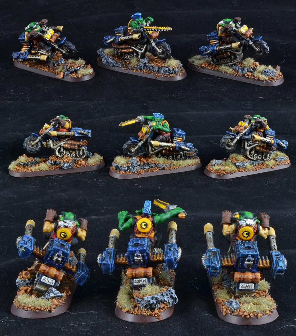 Bad Moons, Gretchin, Orks, Rt, Warbike, Warhammer 40,000