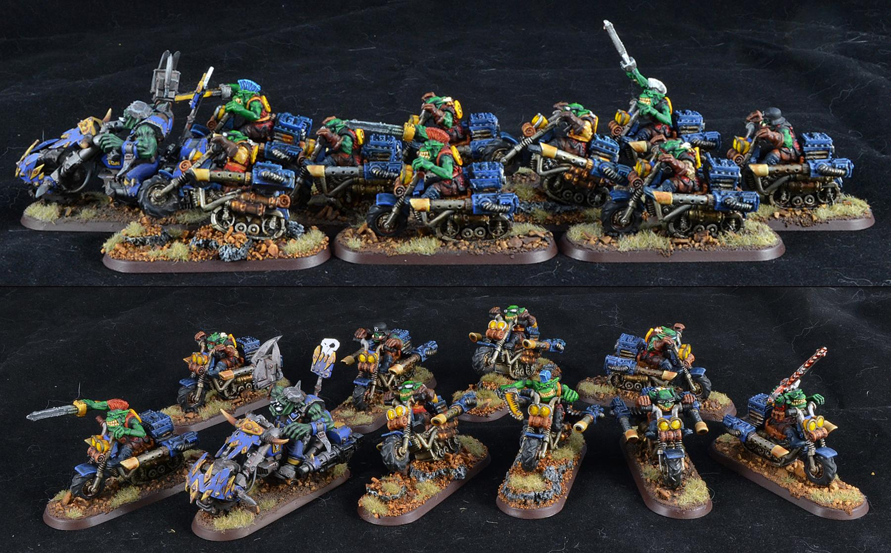 Bad Moons, Gretchin, Orks, Rt, Warbikers, Warhammer 40,000