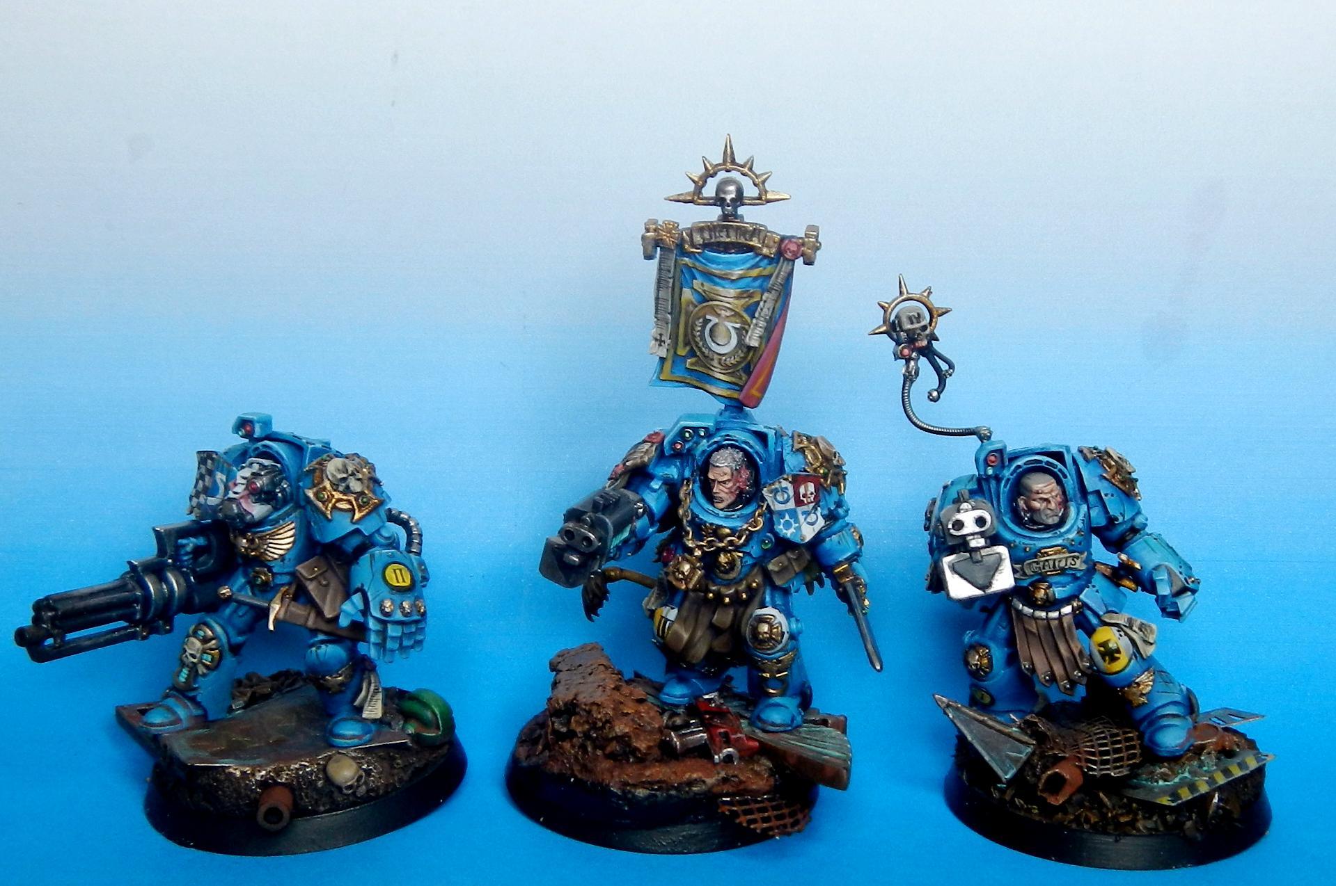 Ultramarine terminator squad first part 2013