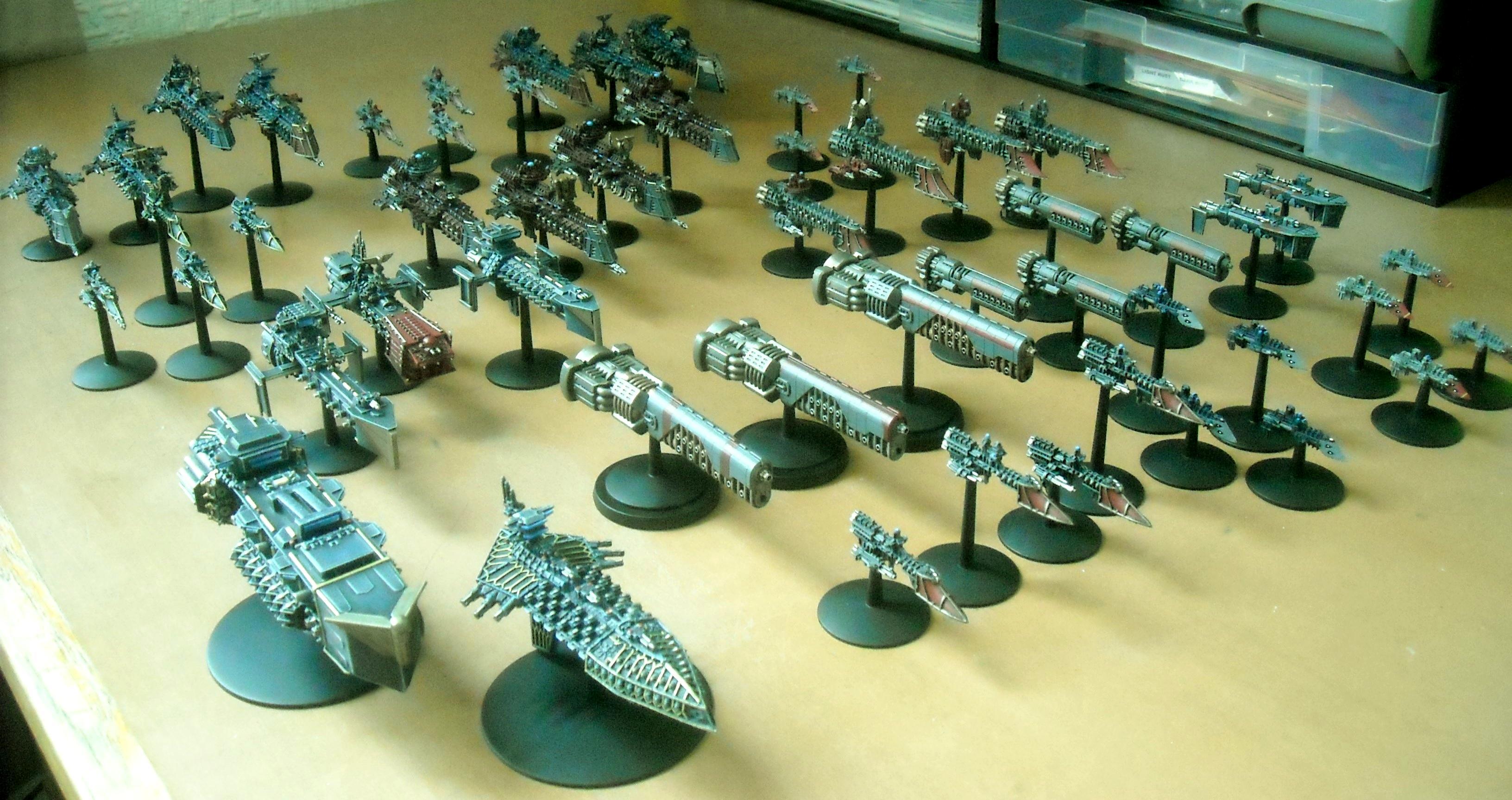 Battlefleet Gothic, My current battlefleet