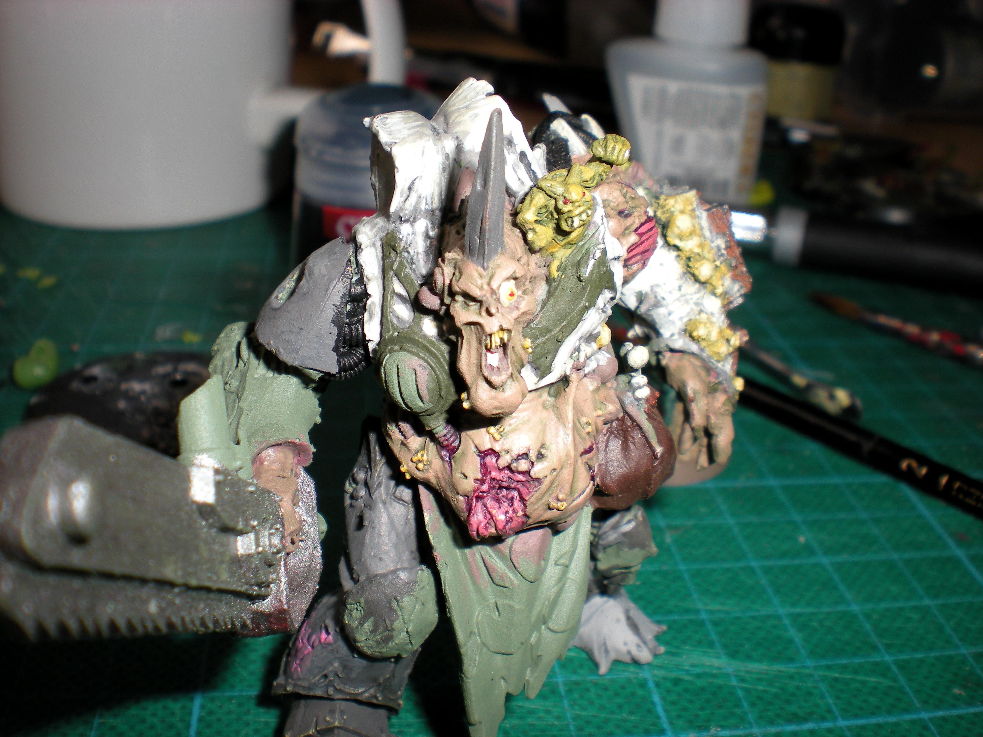 Chaos, Chaos Space Marines, Conversion, Cool, Daemons, Dp, Nurgle, Prince, Space Marines, Warhammer 40,000, Warhammer Fantasy