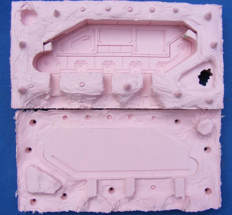 First tank chassis mold finished