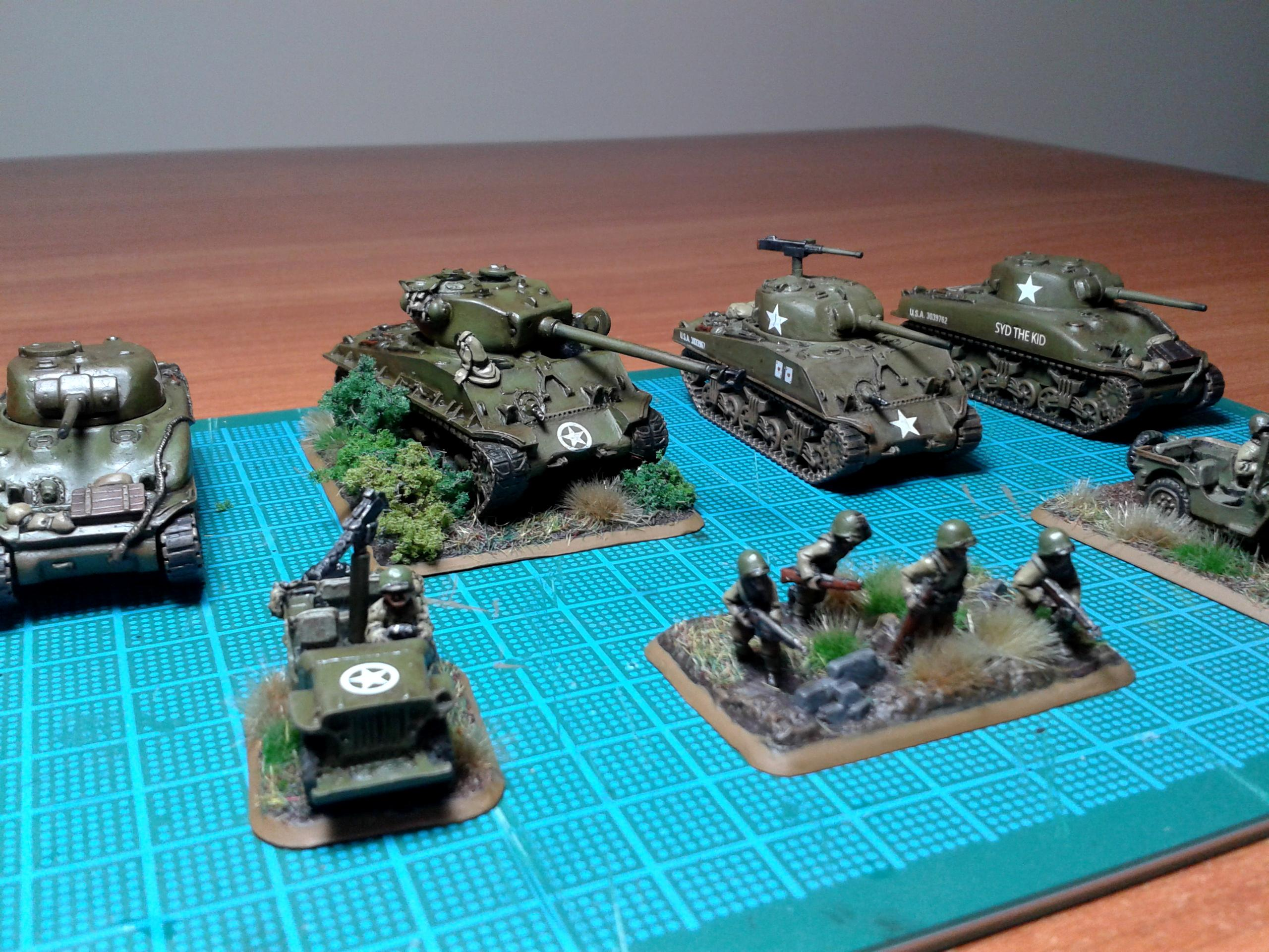 Flames Of War, Us Army