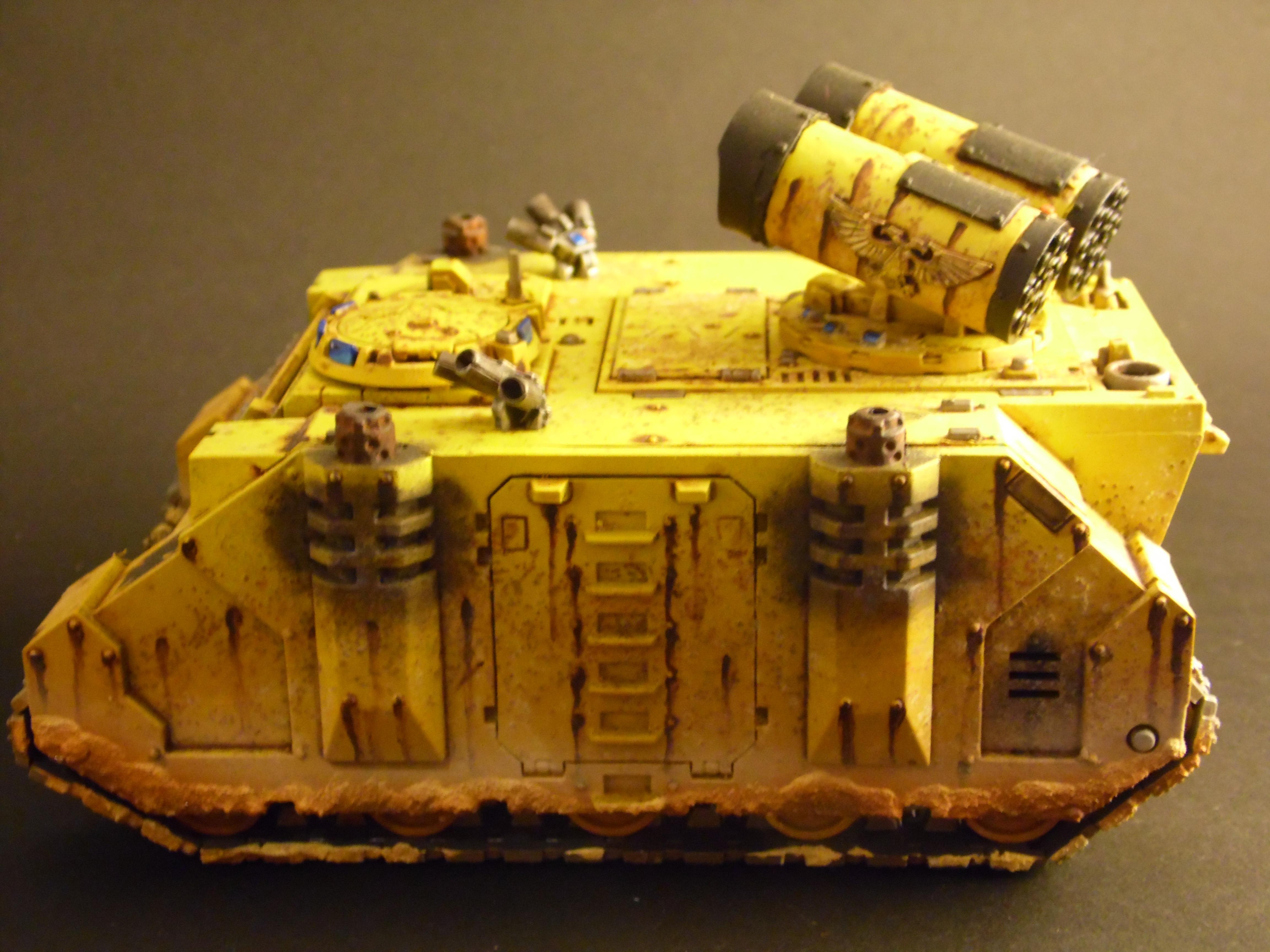 Fist, Imperial, Painting, Rusty, Rustytankpainting, Tank, Warhammer 40,000, Warhammer Fantasy, Whirlwind