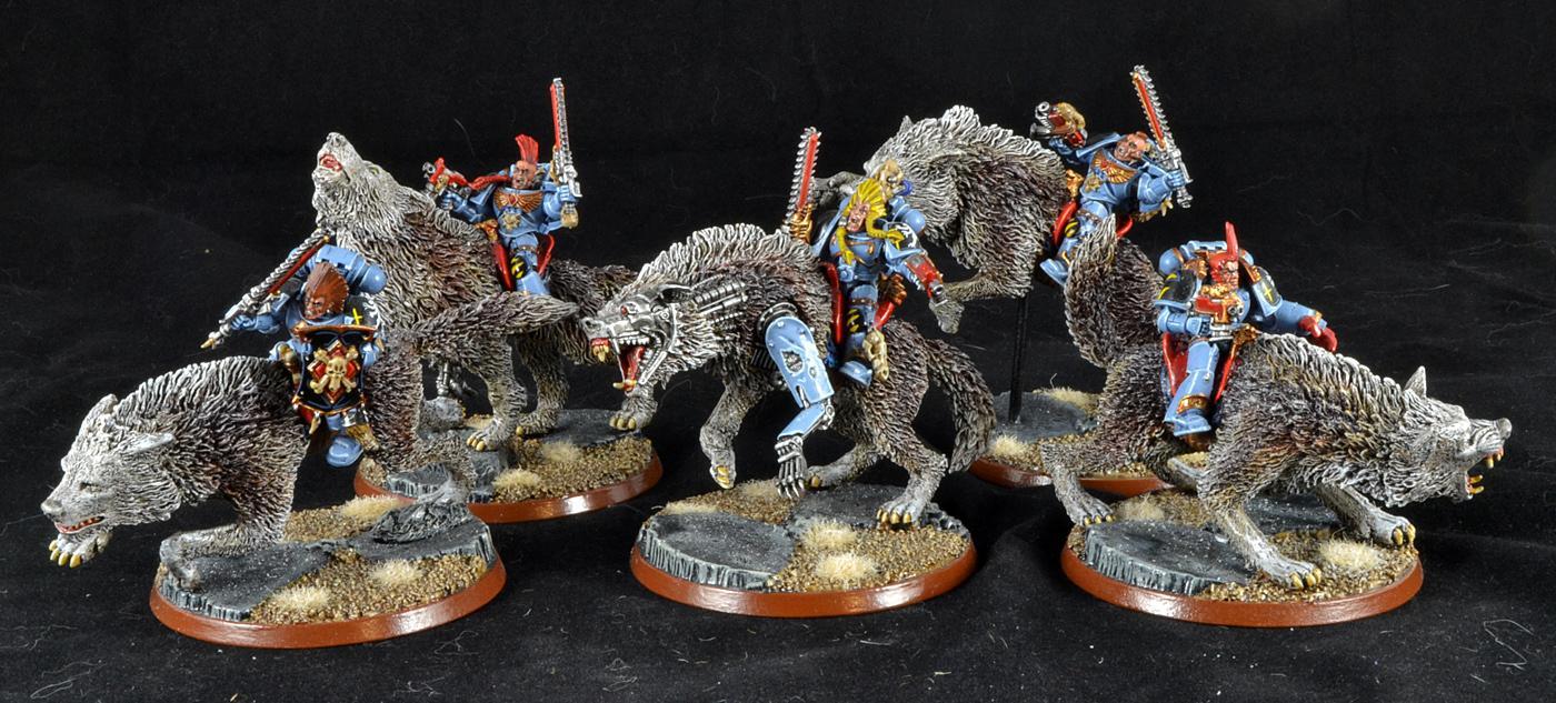 Space Wolves, Thrunderwolf Cavalry, Warhammer 40,000