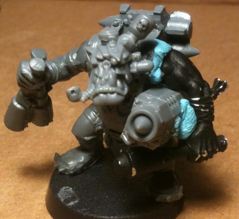 Orks, Tankbustas, Warhammer 40,000, Work In Progress