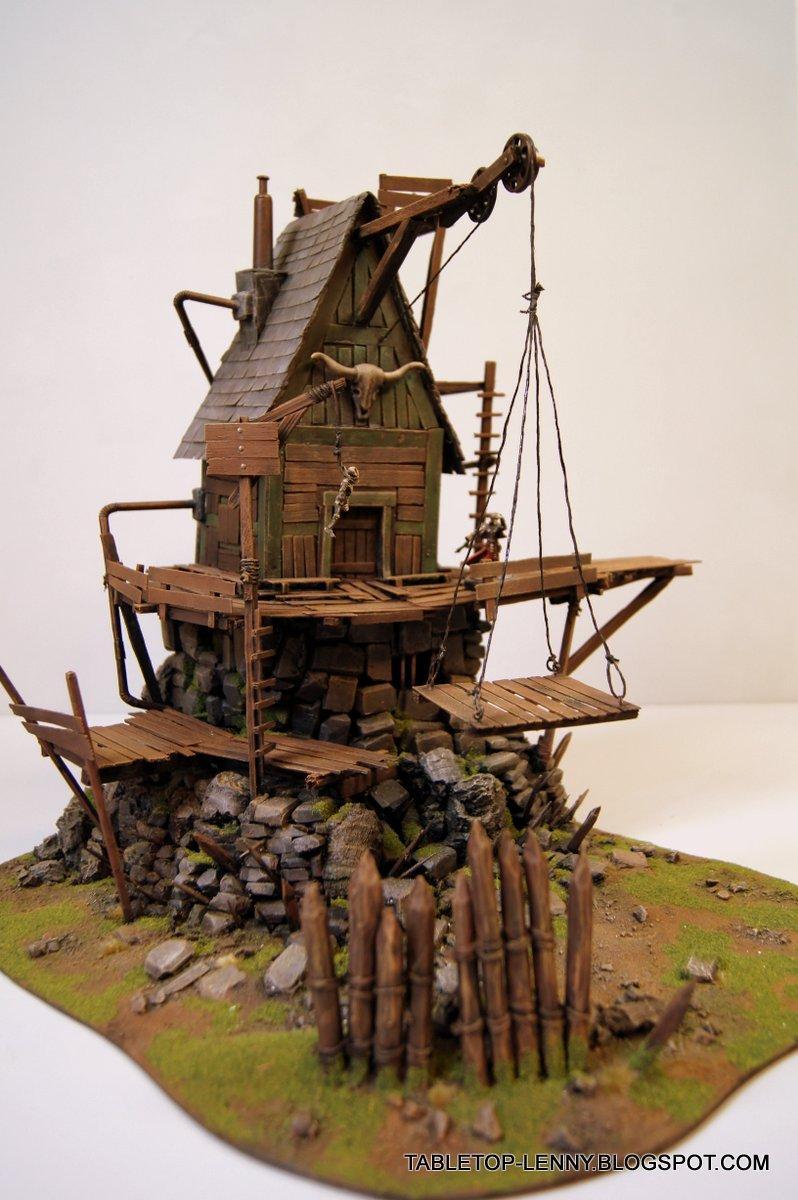 Malifaux, Steampunk, Terrain, Warmachine