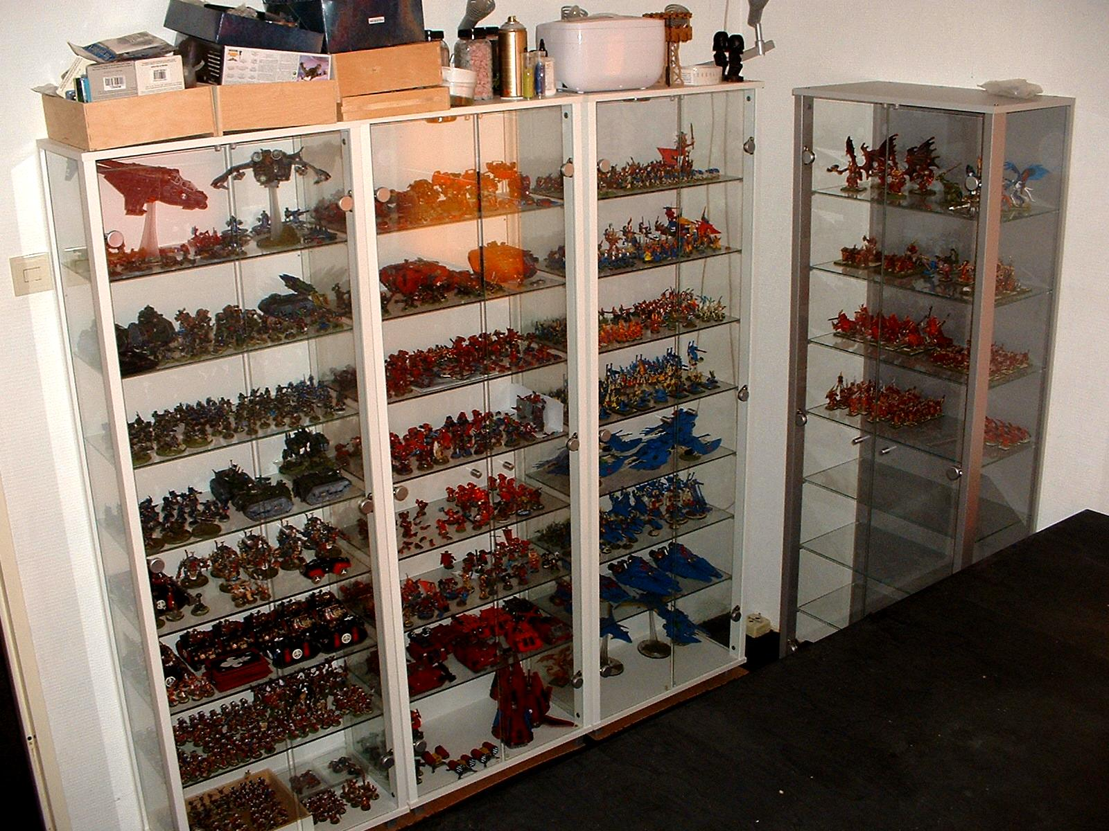 Cabinet, Display, My Collection