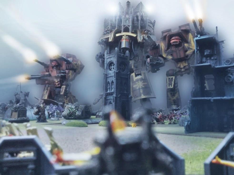 Chaos Titan, Emperor Titan, Imperator Titan, Warmaster