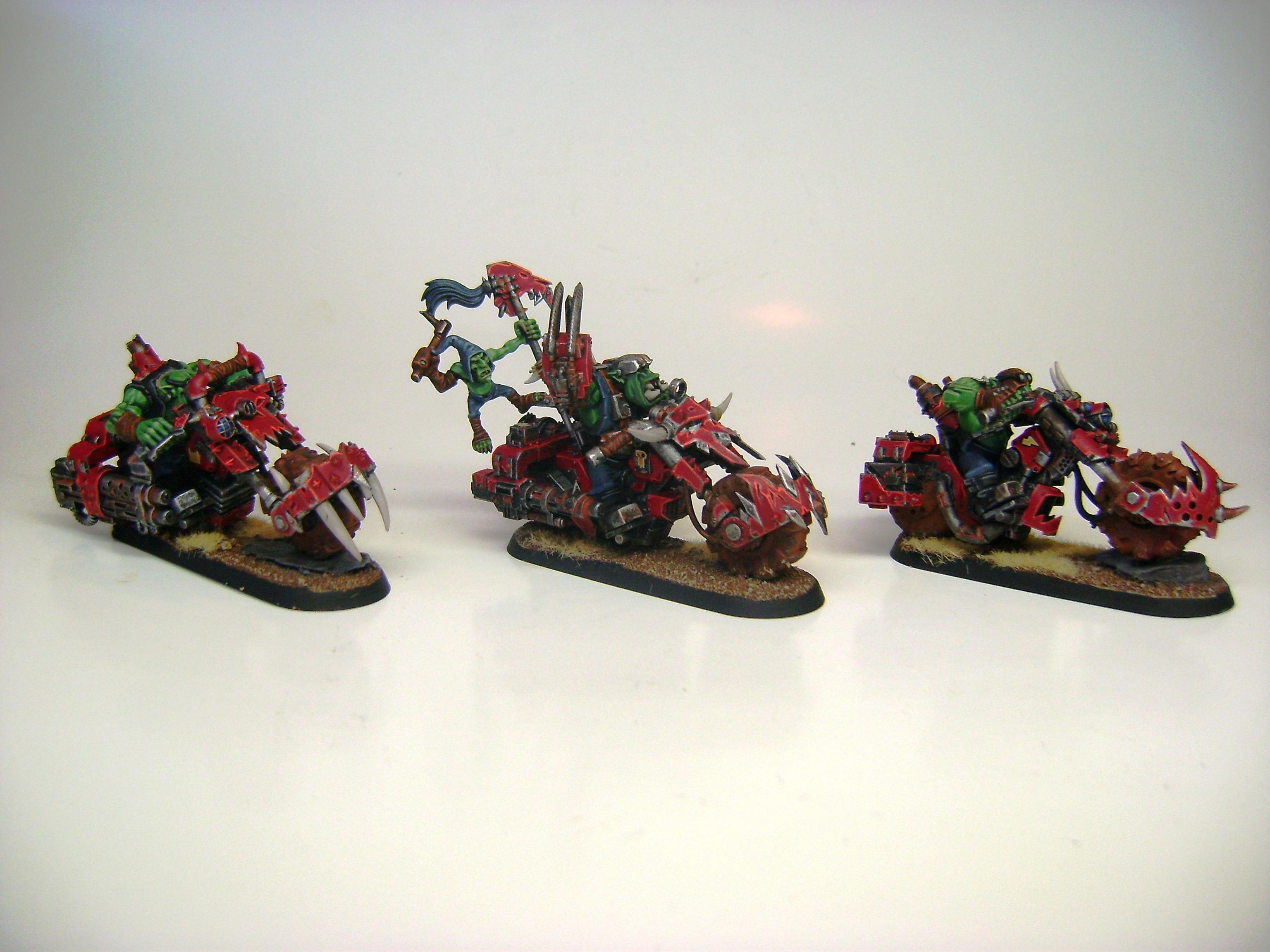 Bike, Orks, Speedfreaks