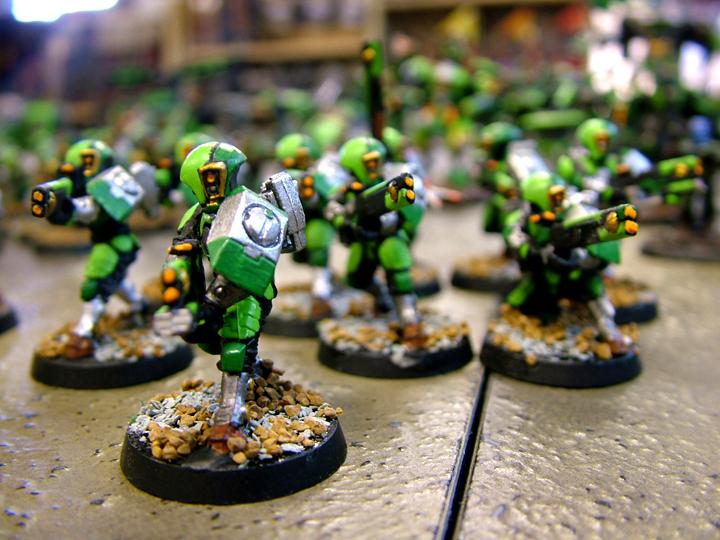 Tau, Tau Johr-dan Sept  Troops