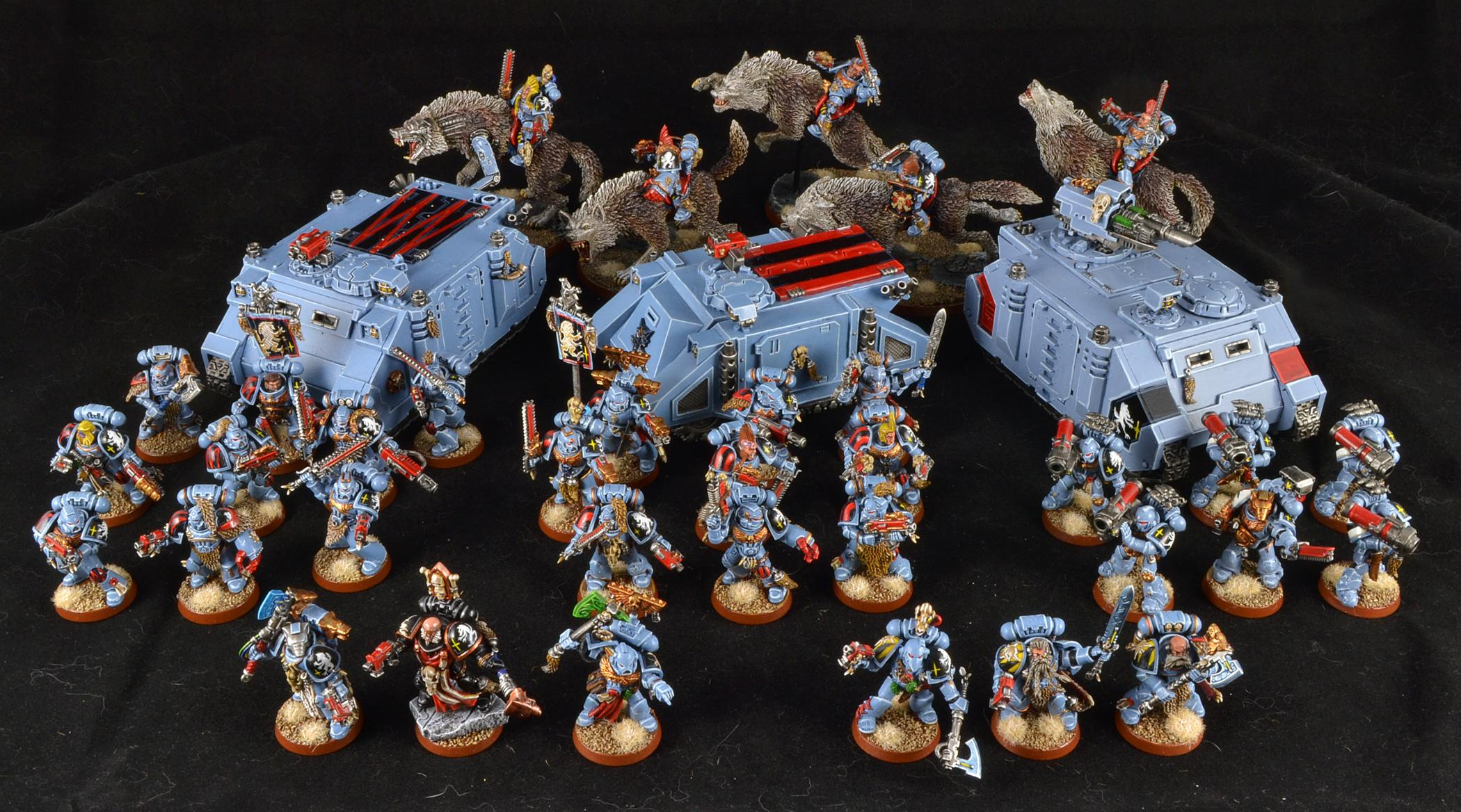 Space Wolves, Warhammer 40,000