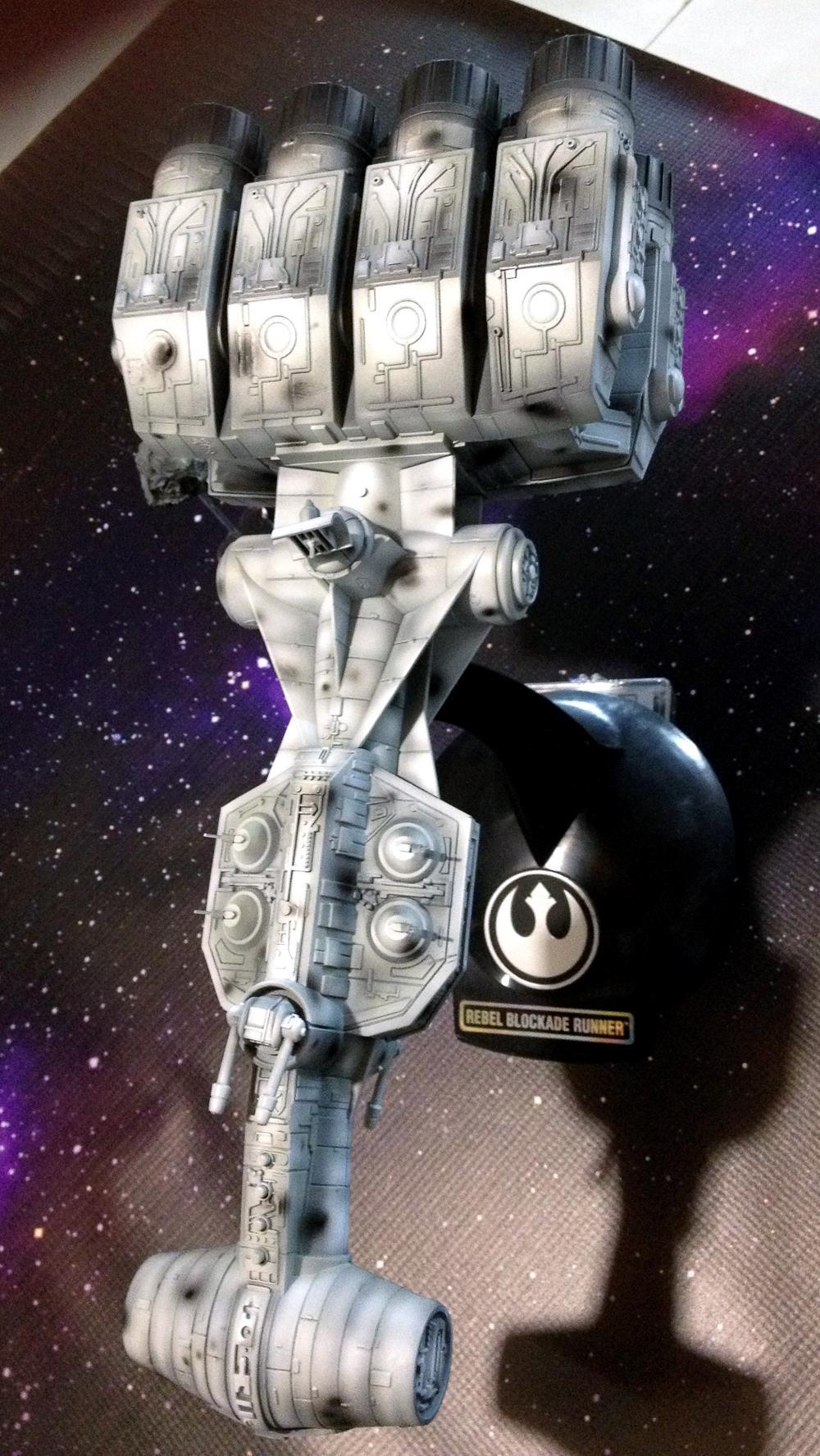 Blockade Runner, Correlian Corvette, Custom, Fantasy Flight, Miniatures Game, Tantive Iv, X-Wing