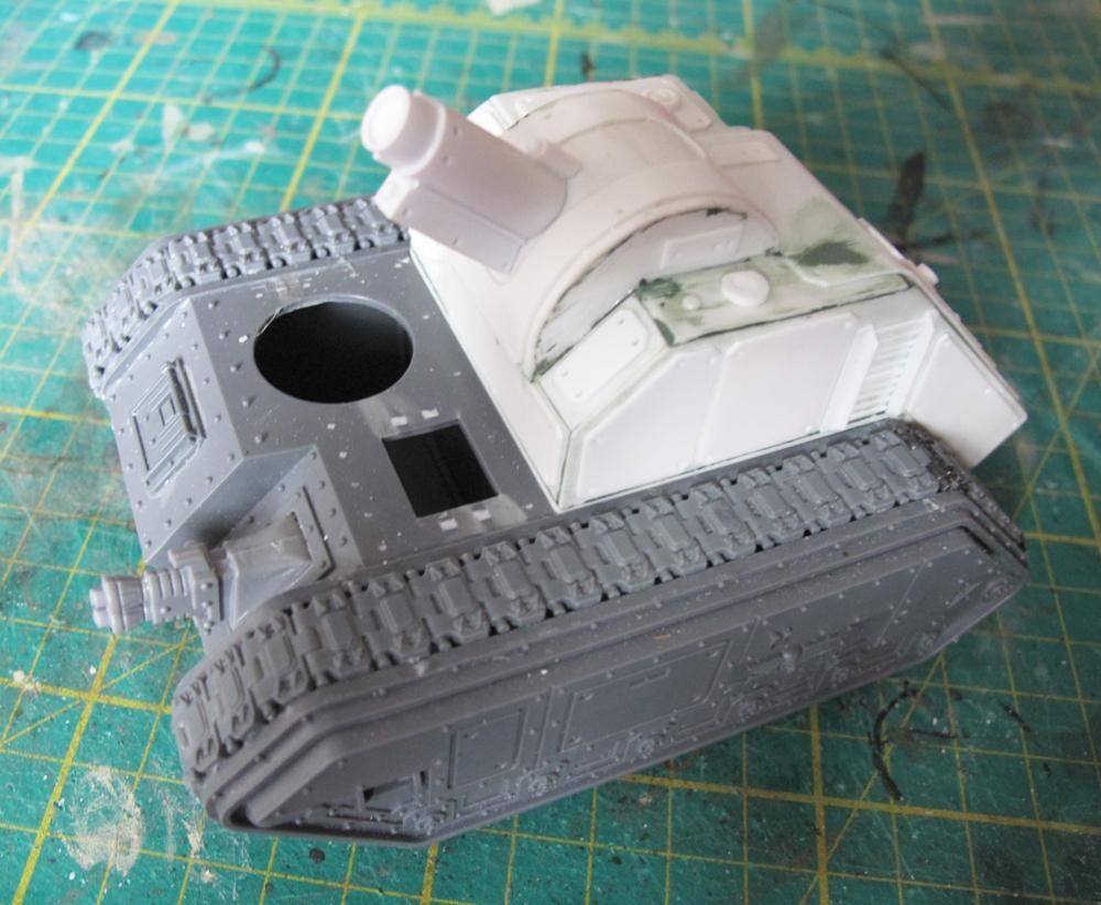 Chimera artillery conversion kit 1