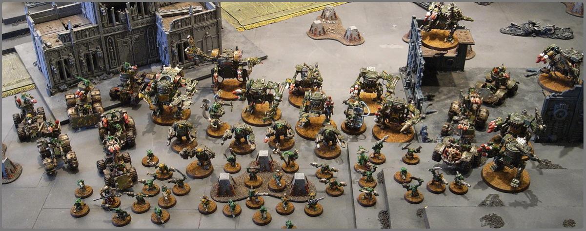 Army, Grots, Orks, Warhammer 40,000