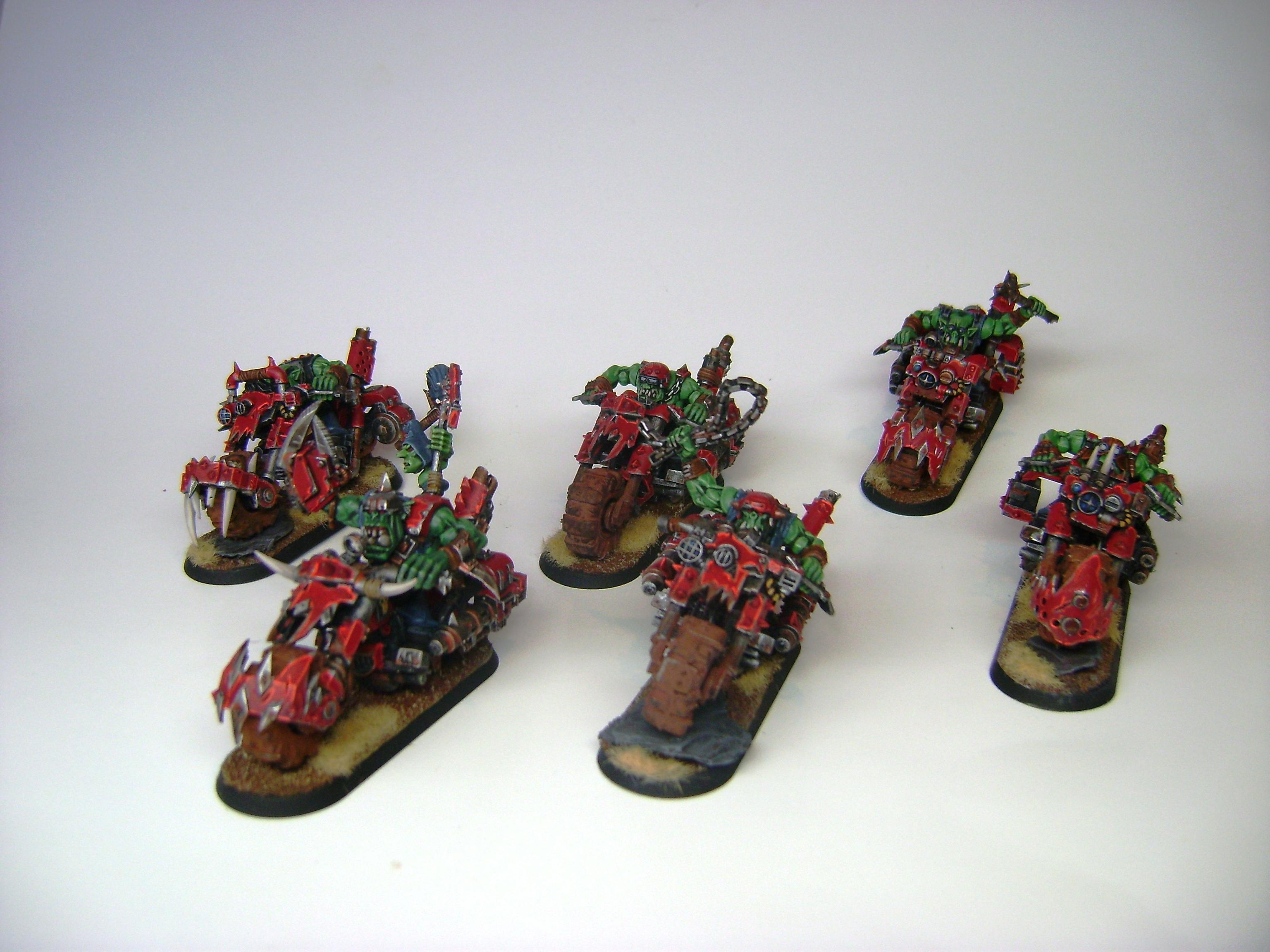 Bike, Mob, Ork Bikers