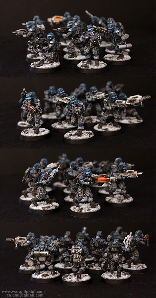Elysian, Elysian Drop Troop, Imperial Guard, Jca, Snow, Winter