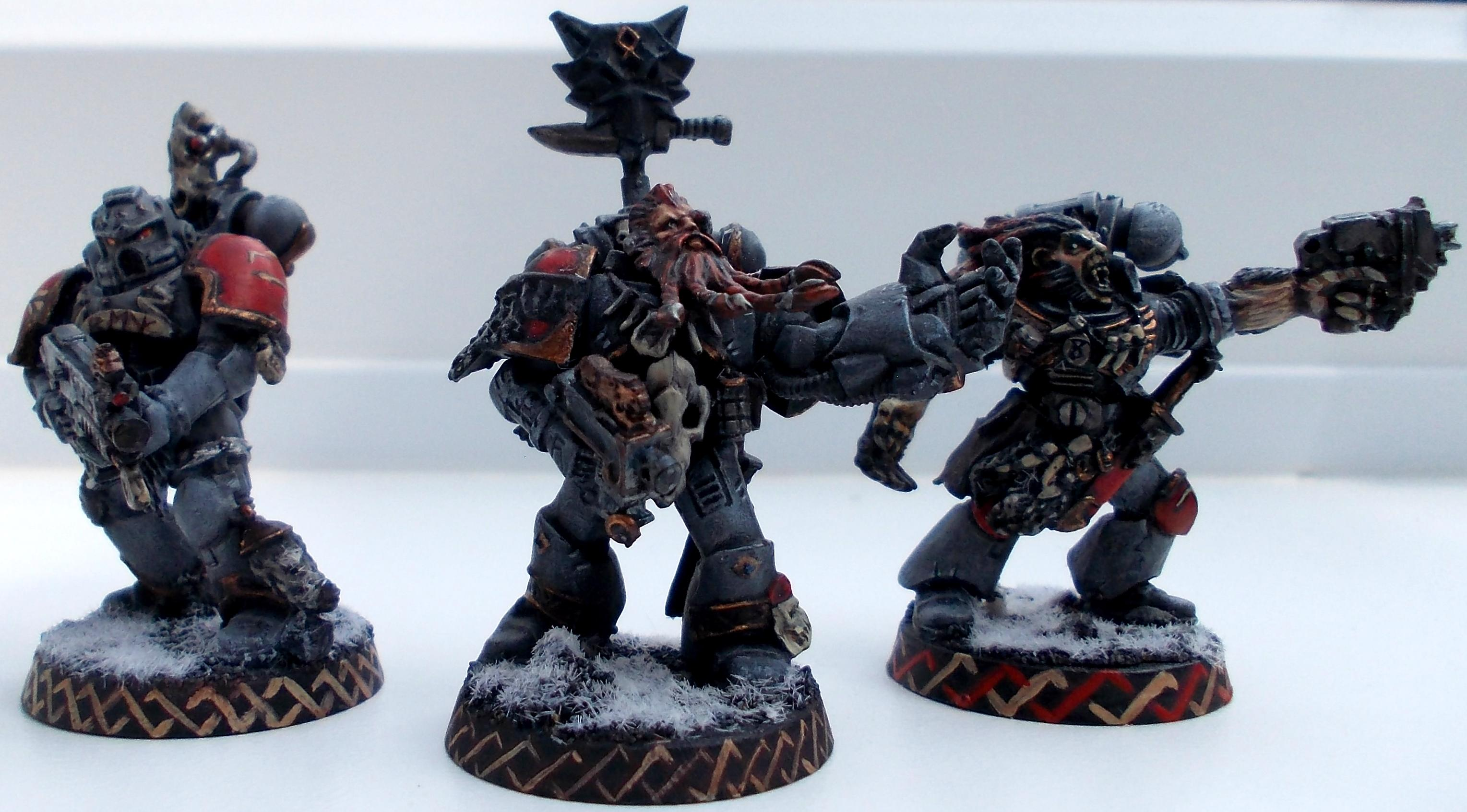 Freehand, Space Wolves, Wulfen