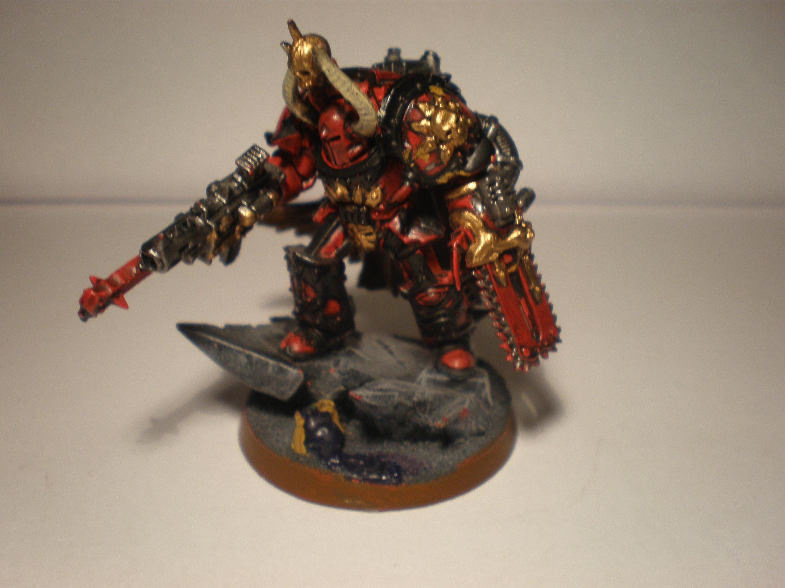 Terminator Lord with chainfist and a combi-melta