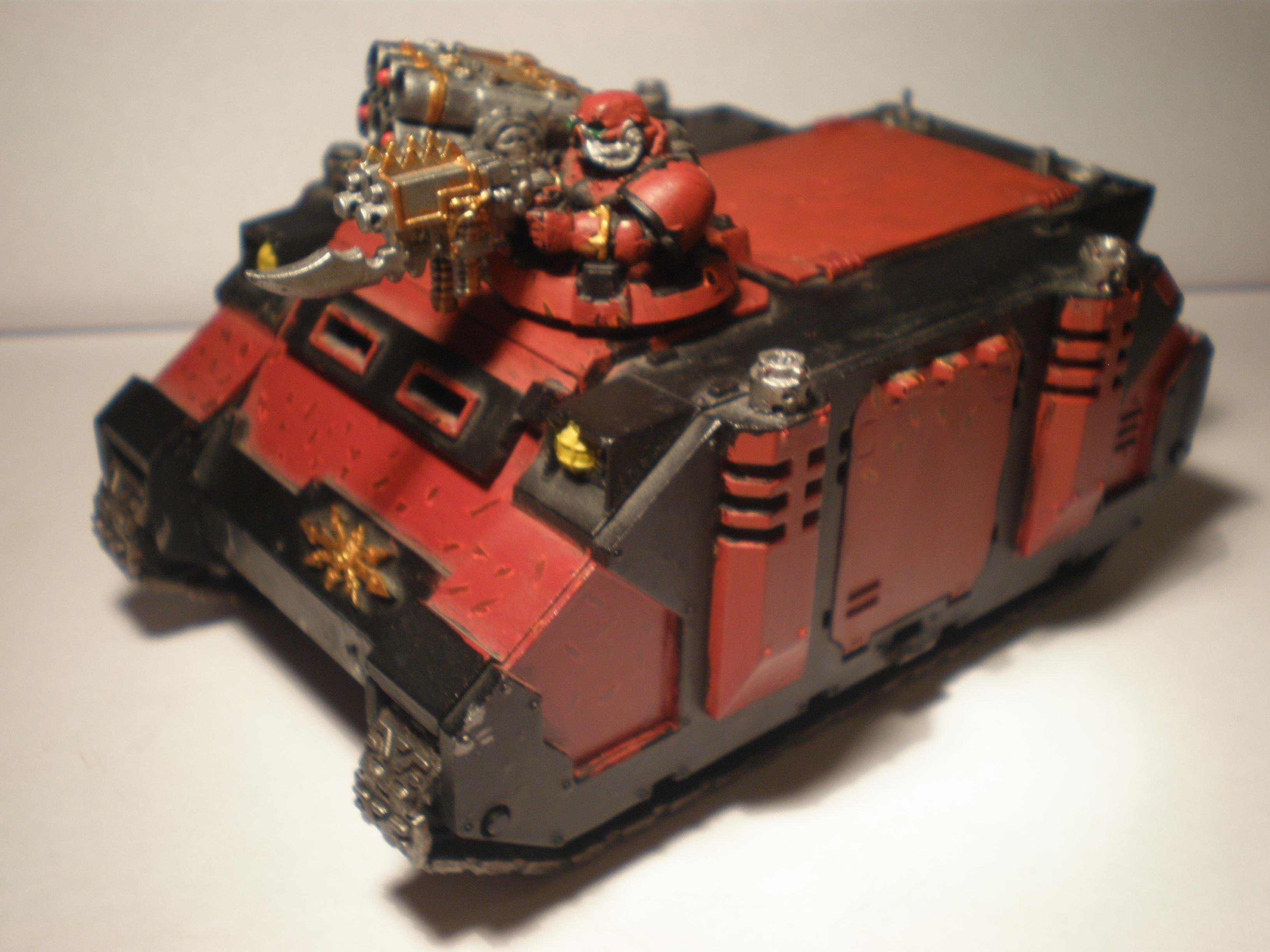 This is my first painted vehicle so it doesn't look to great