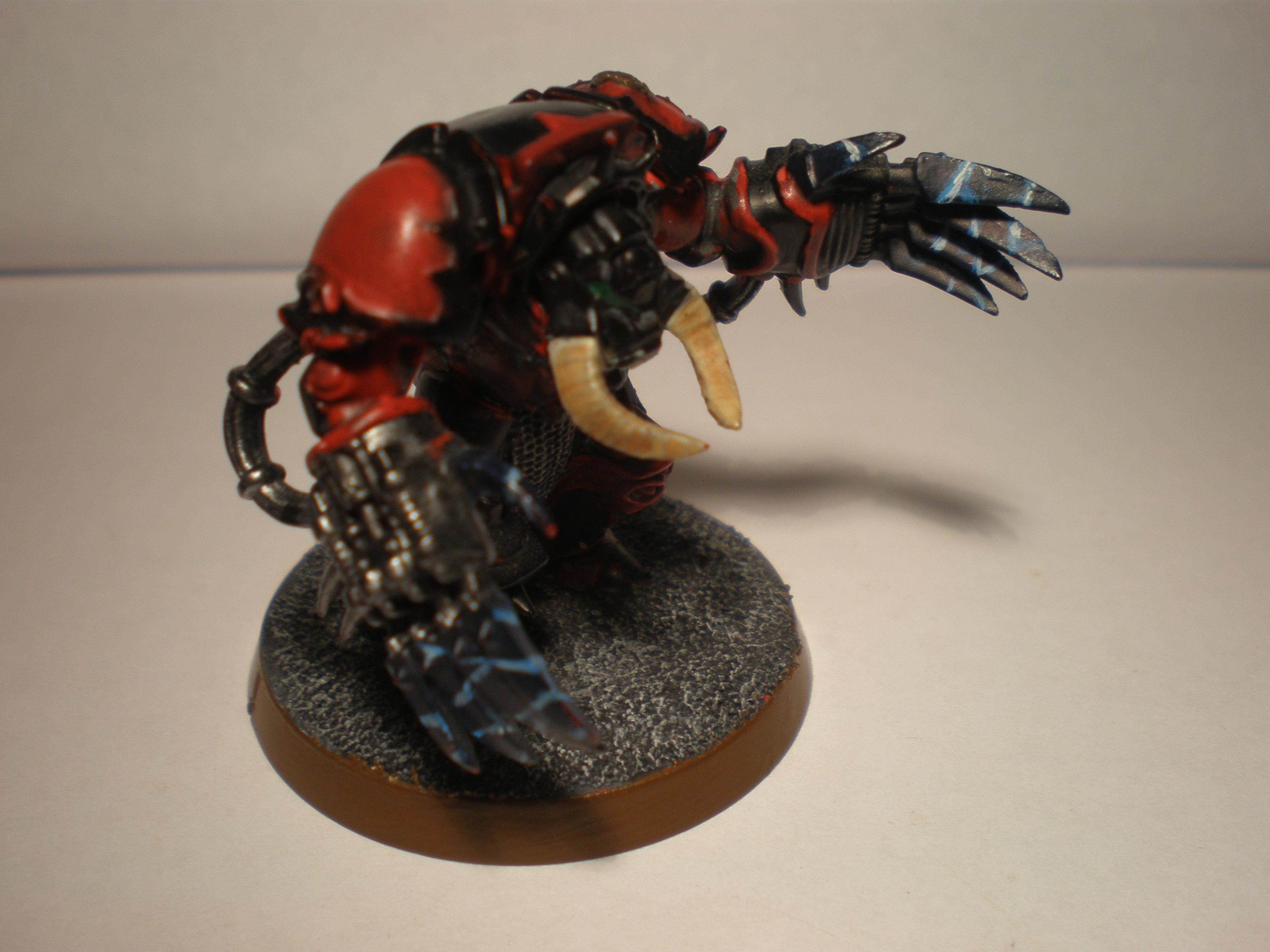 Its my first attempt at painting lightning effects