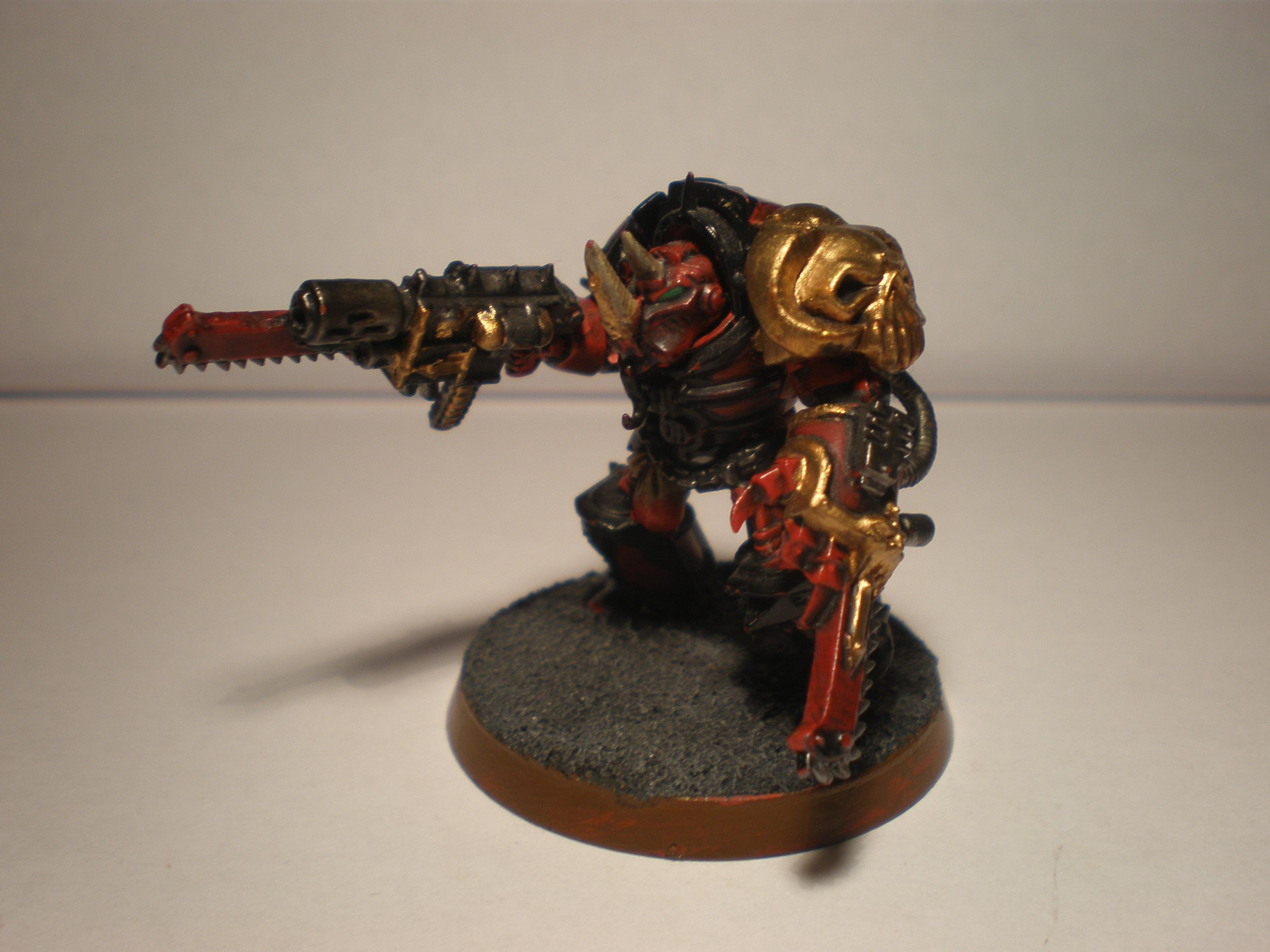 Terminator Chamion with combi-melta and a chainfist