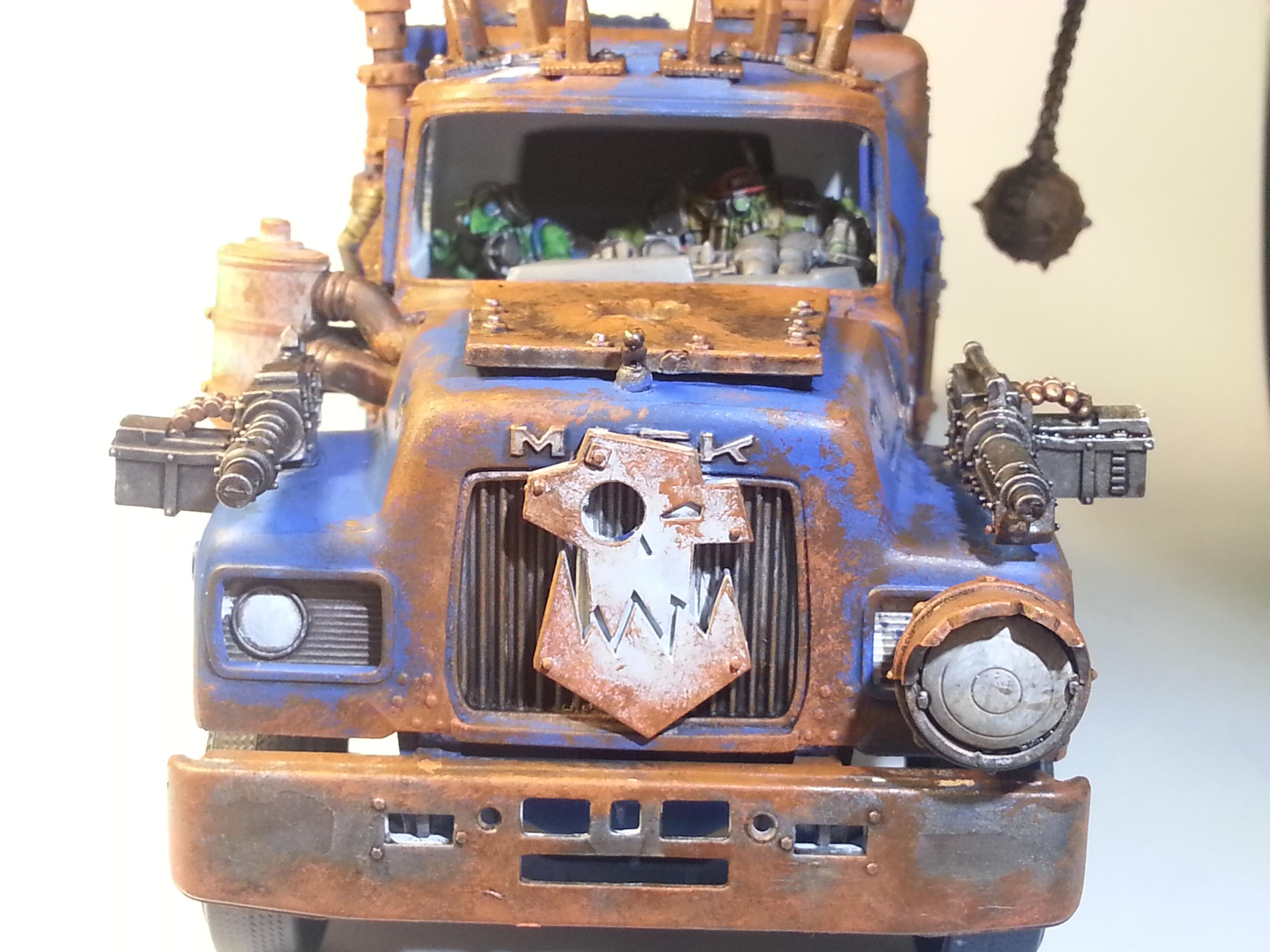 Orks, Truck, Weathered