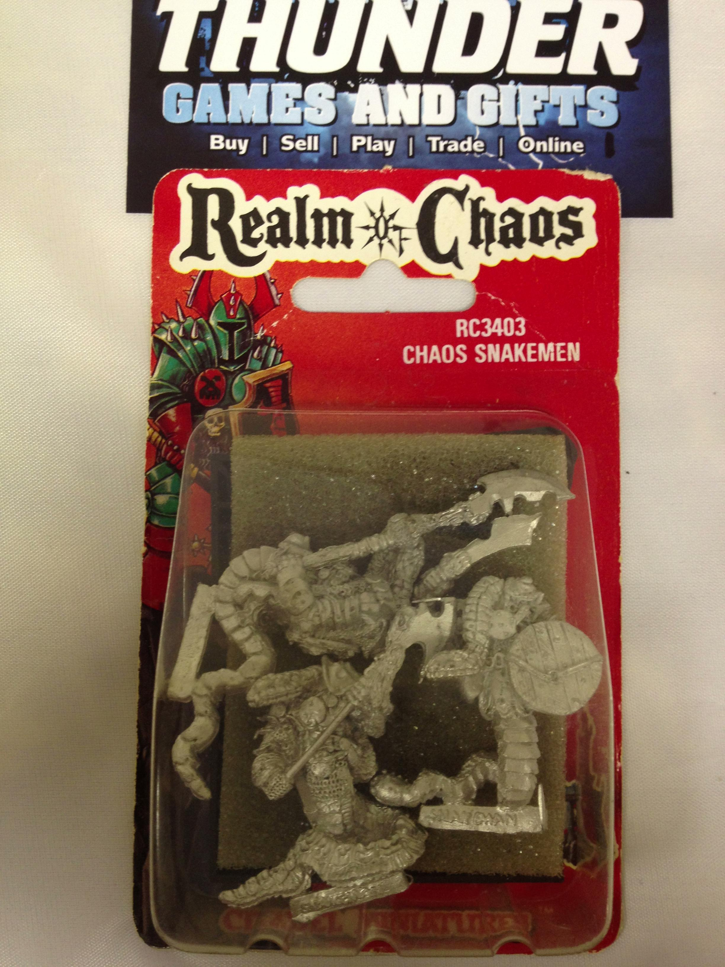 Chaos, Out Of Production, Snakemen