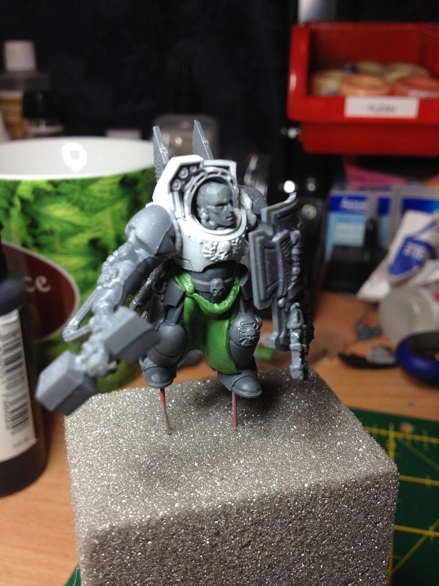Blood Angels, Conversion, Terminator Armor, Work In Progress