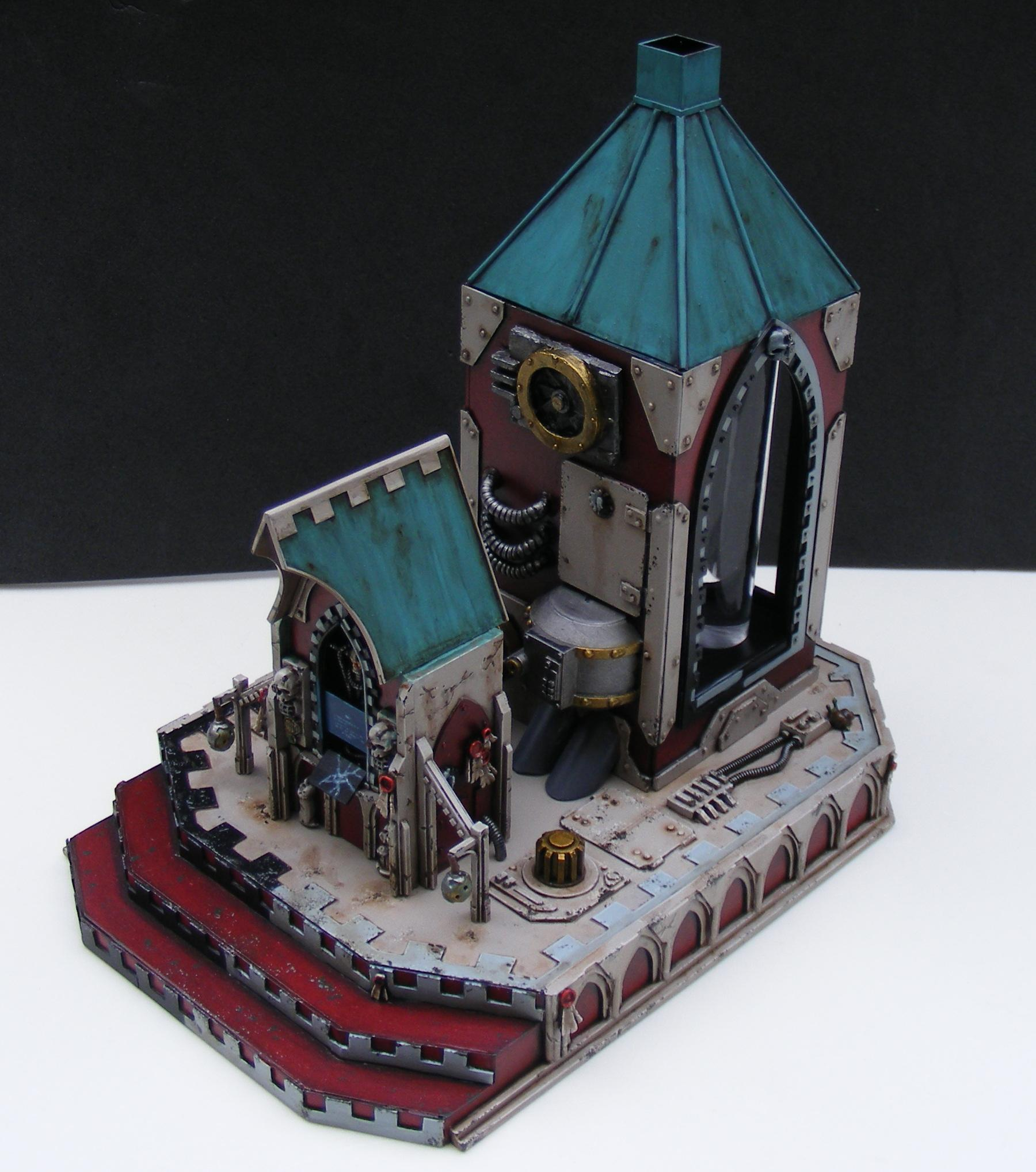 000 Shrine, Mechanicus, Terrain, Warhammer 40,000