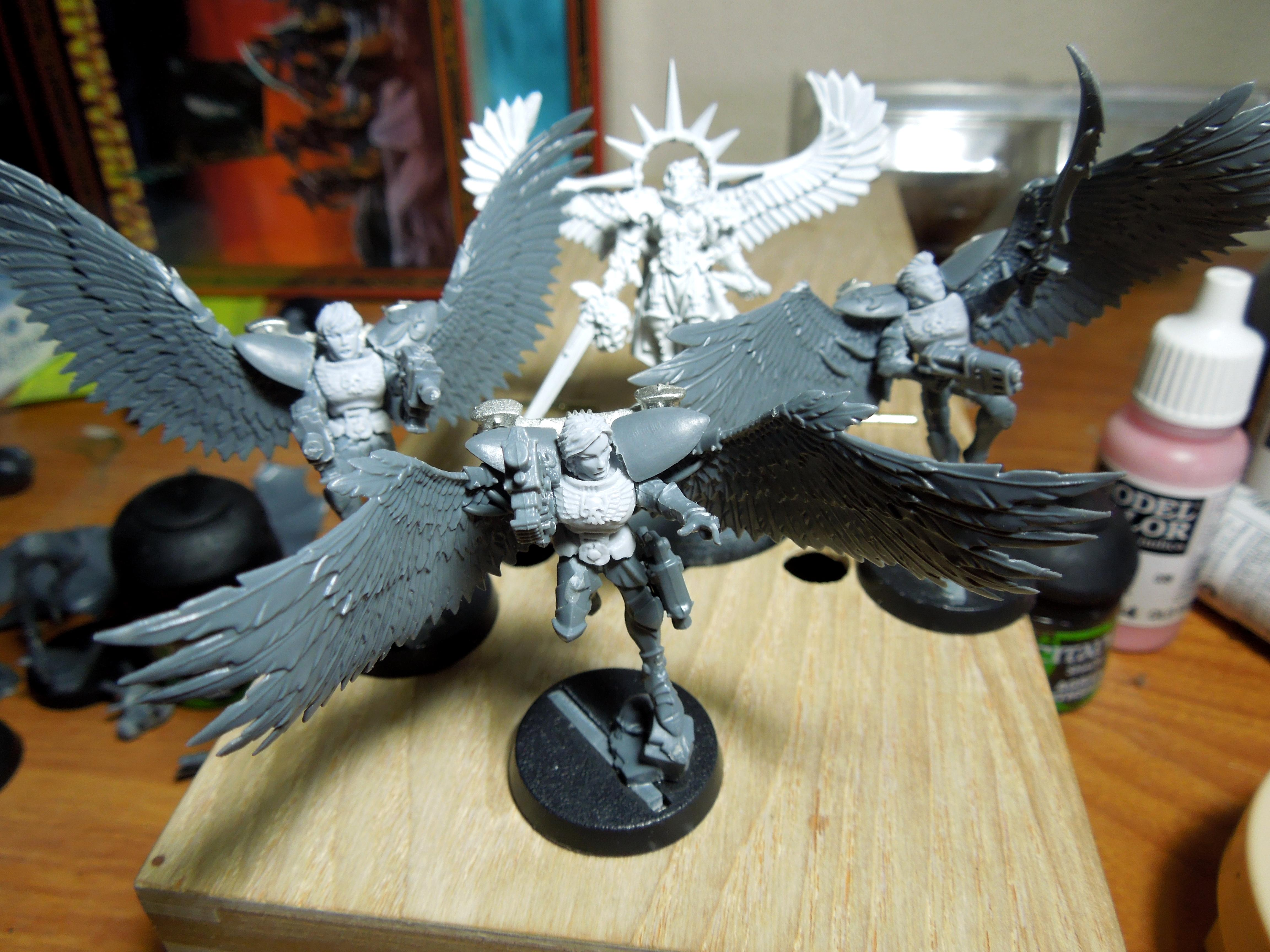 Battle Sisters, Bitter Cu.nt, Bolters, Seraphim, Seraphim Superior, Sister Superior, Sisters Of Battle
