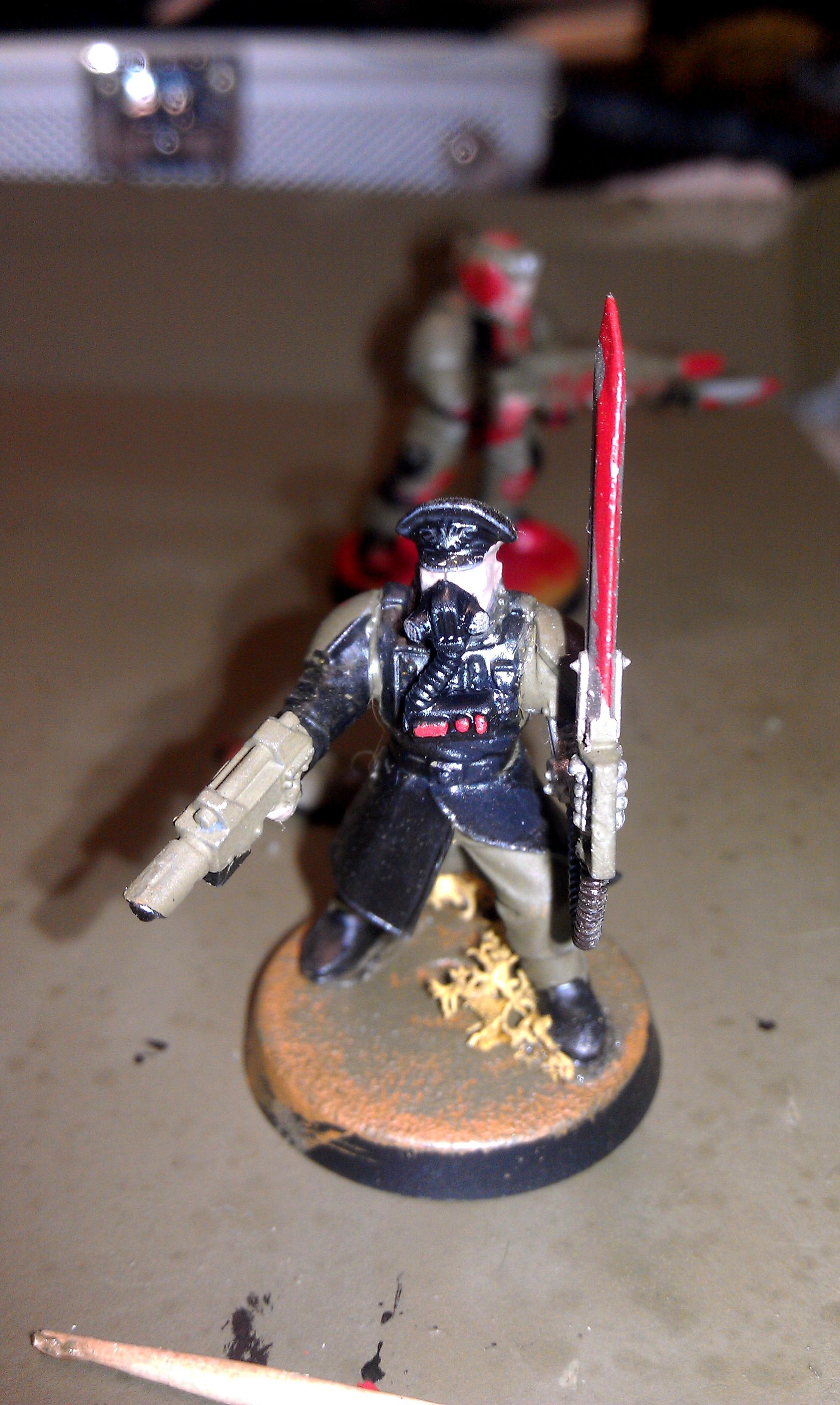 Comand Squad, Commander, Guard, Power Sword, Sergeant