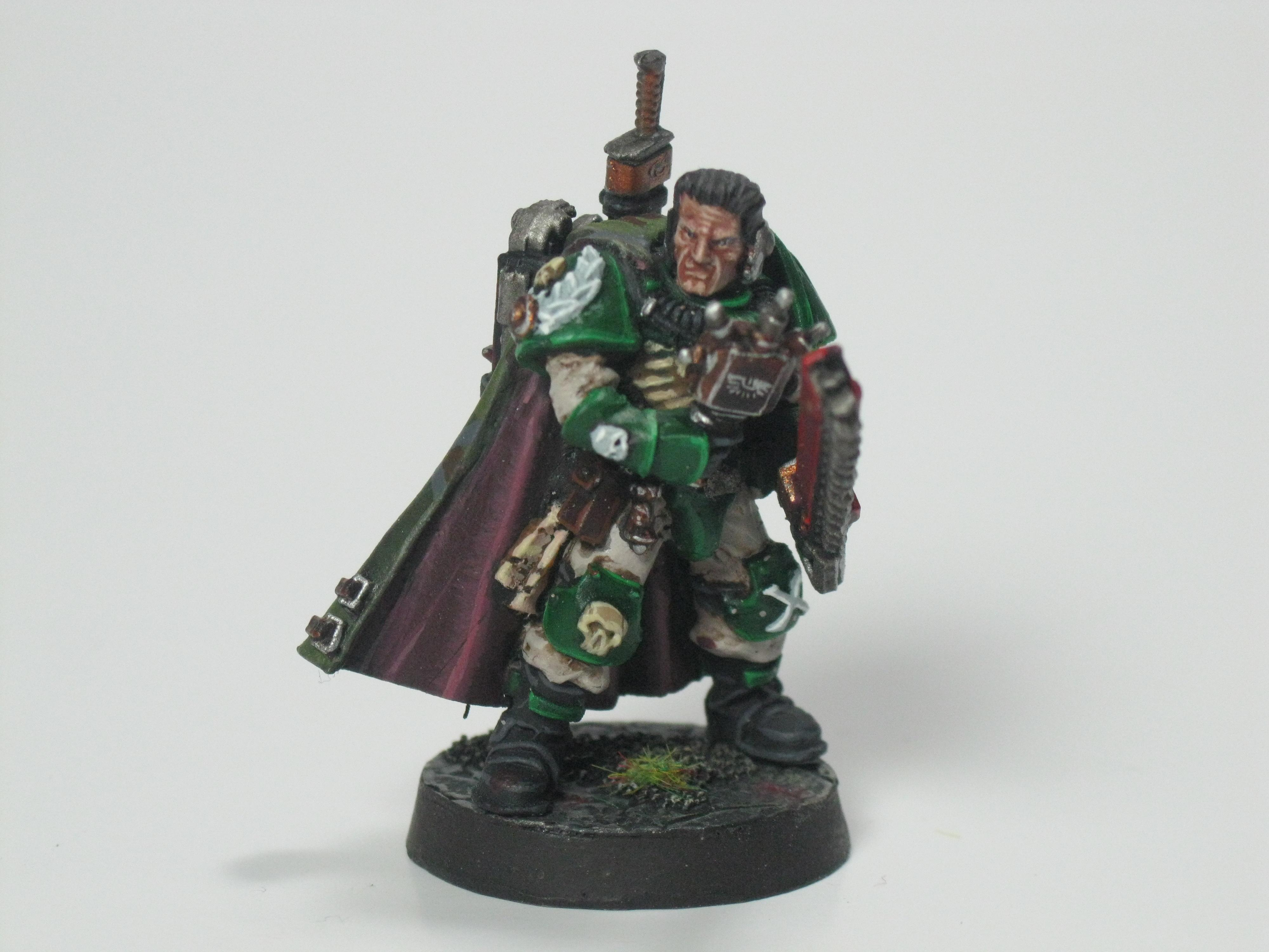 Conversion, Dark Angels, Scouts, Sergeant Naaman, Snipers, Space Marines, Telion