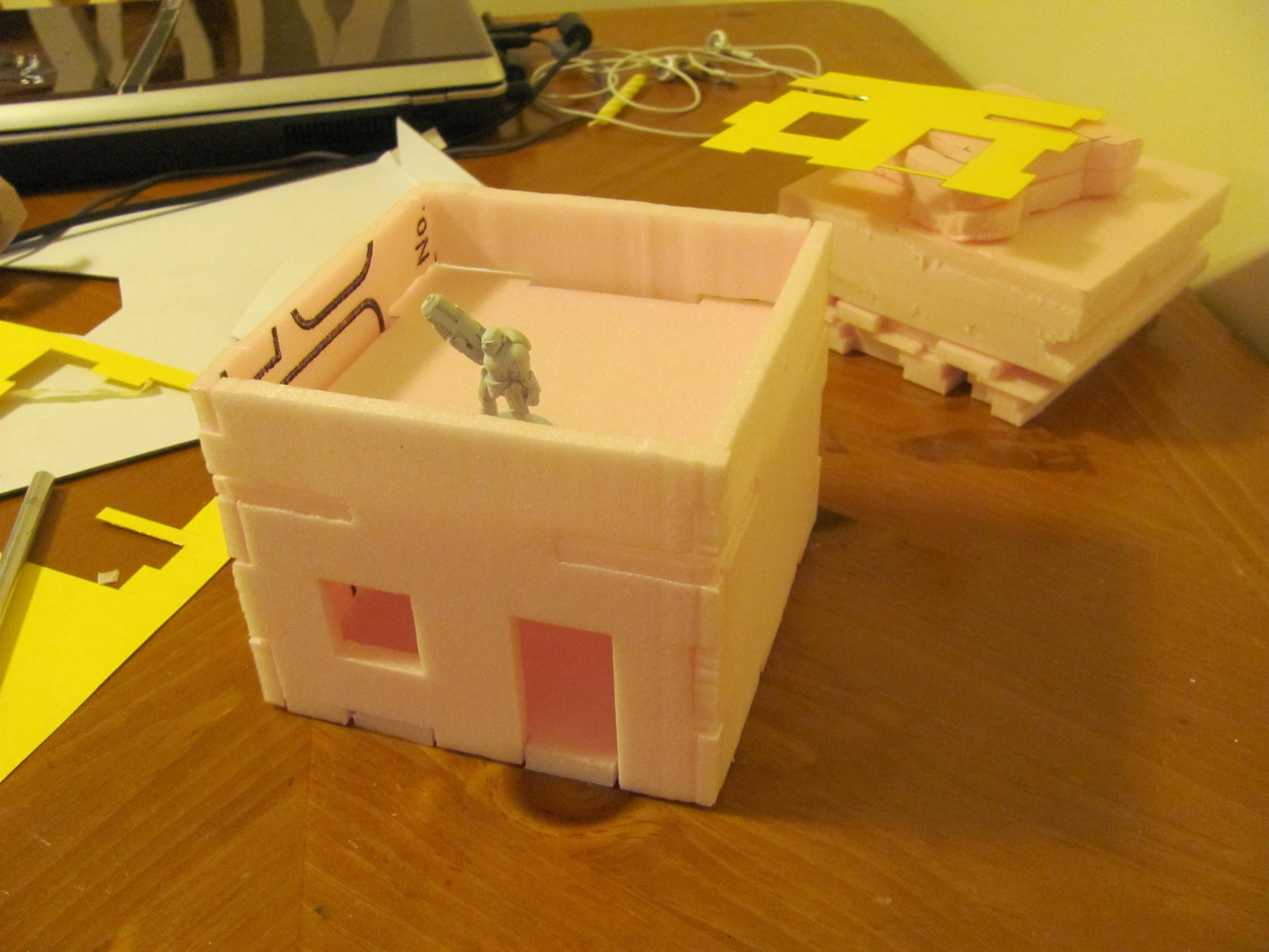 Buildings, first foam building