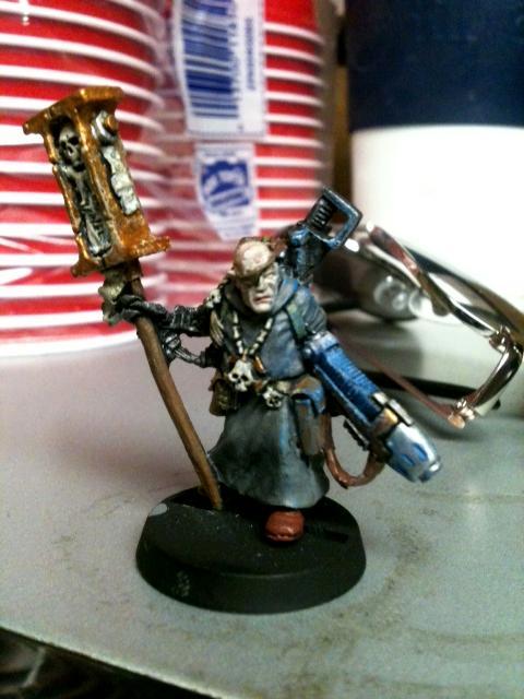 Inquisitor, Plasma, Priest, Retinue