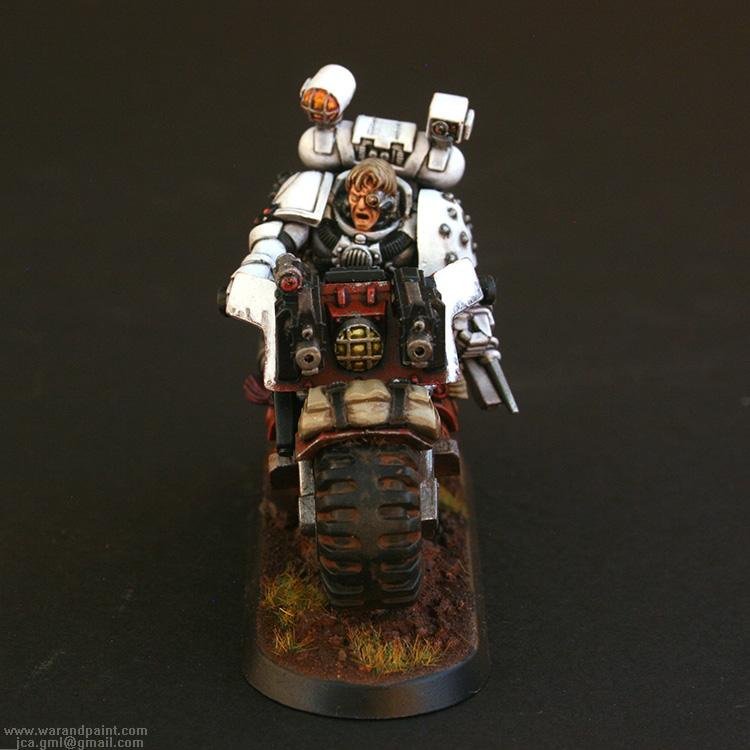 Apothecary, Blood Angels, Jca, Sanguinary Priest, Scout Bike