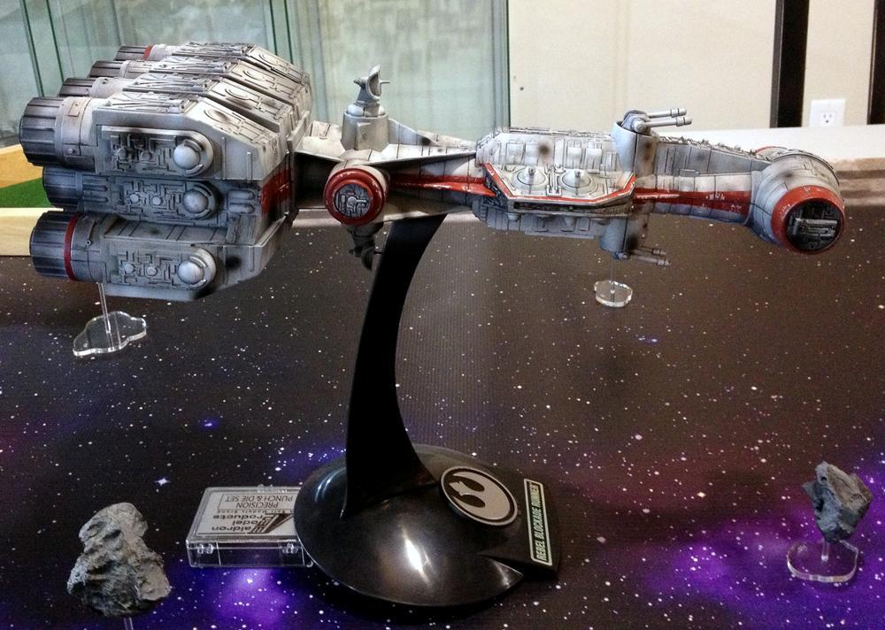 Blockade Runner, Correlian Corvette, Custom, Fantasy Flight, Miniatures Game, Star Wars, Tantive Iv, Toy, X-Wing